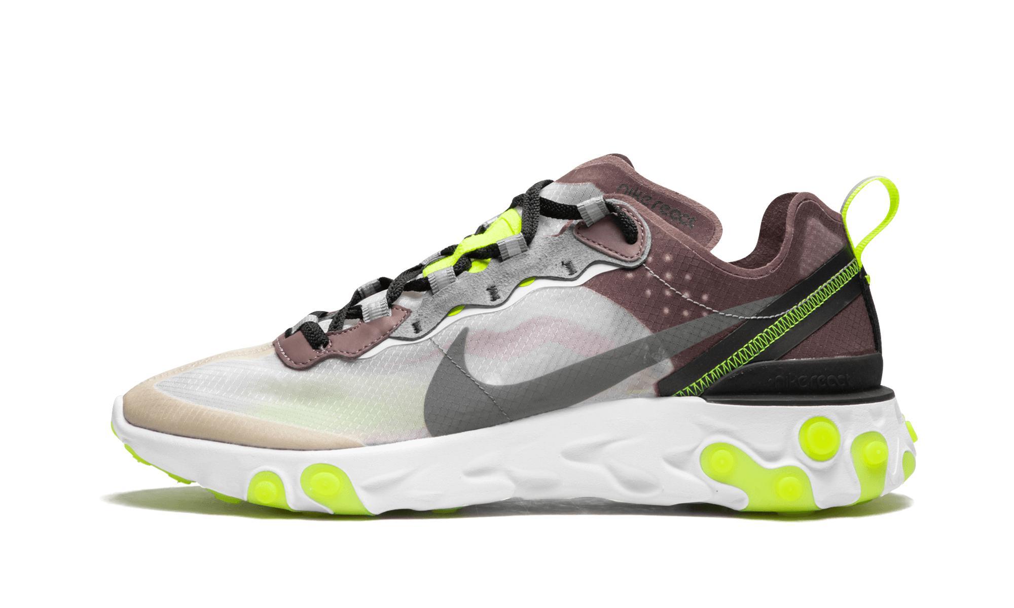 8d76489b61fe Lyst - Nike React Element 87 in Gray for Men