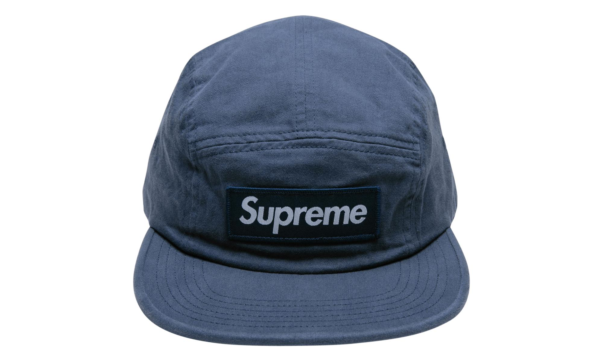 33994be6164 Lyst - Supreme Military Camp Cap in Blue for Men - Save 29%
