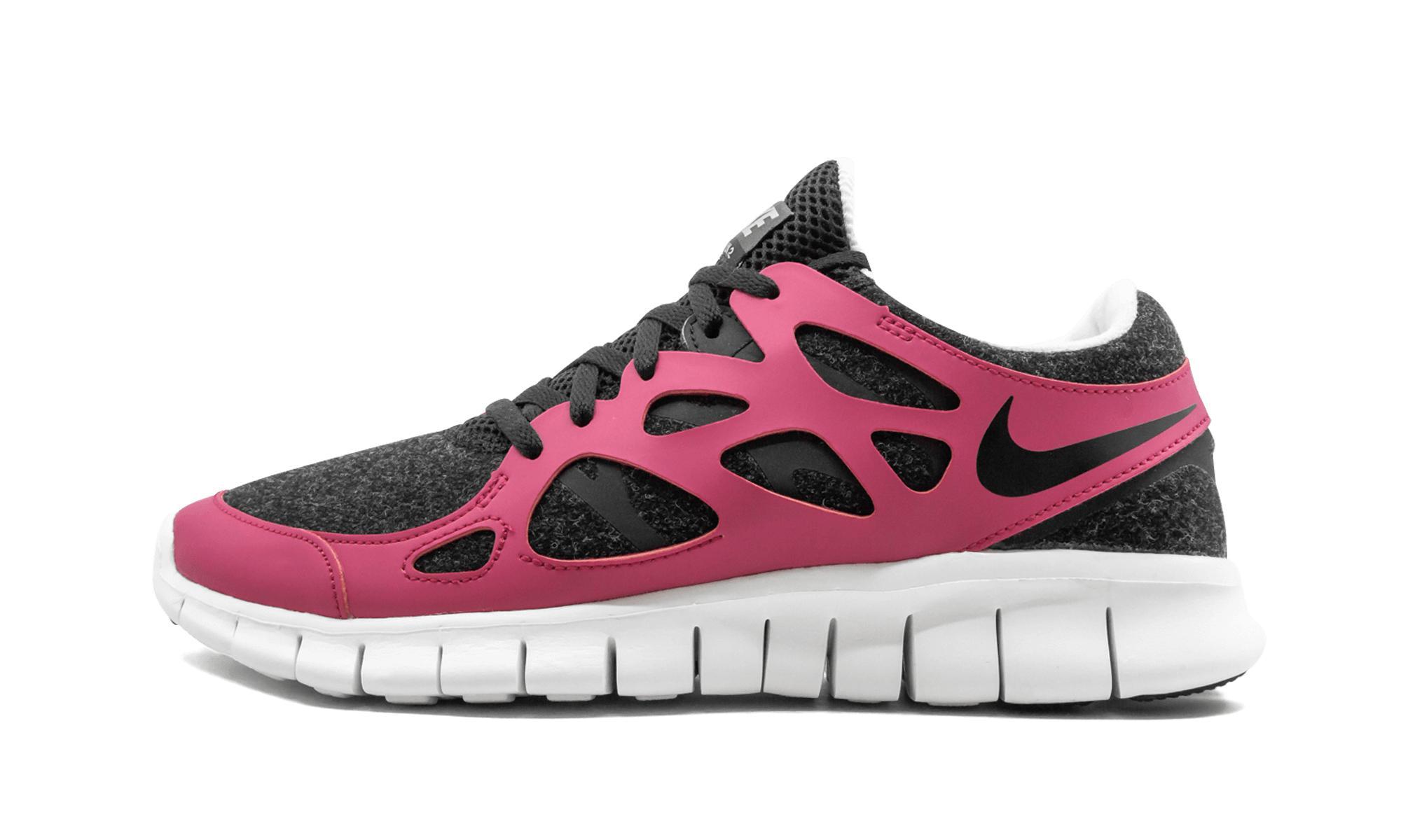 purchase cheap d58b7 a3e85 Nike. Black Womens Free Run+ 2 Ext