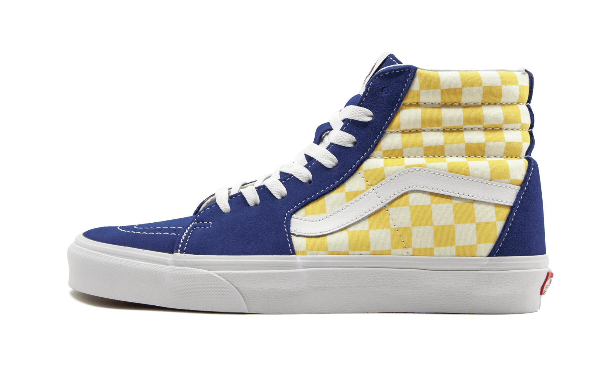 3ab08a5d6b6 Vans Sk8-hi (bmx Checkerboard) in Blue for Men - Lyst