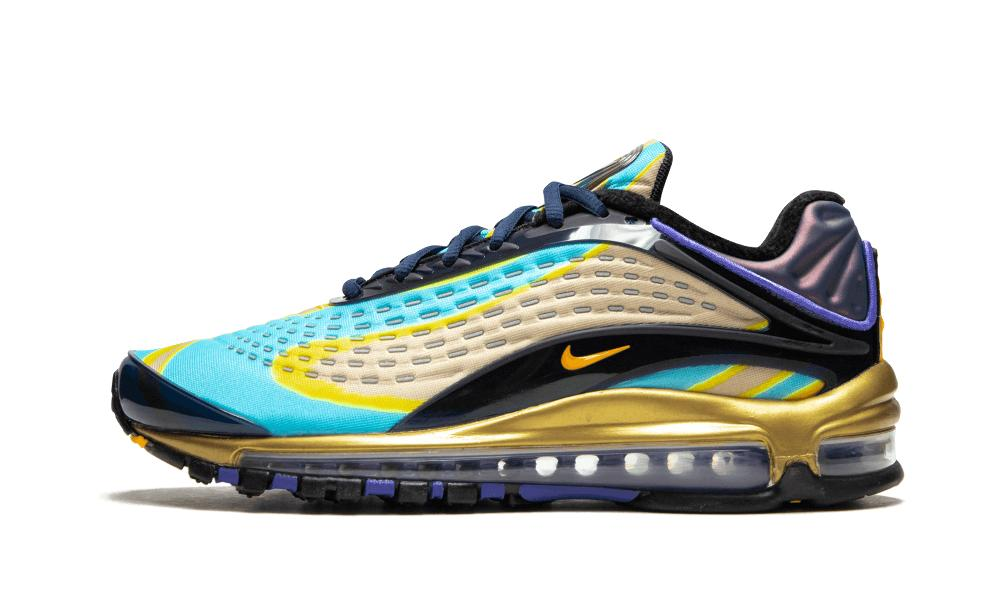 Blue Womens Air Max Deluxe Size 7.5w