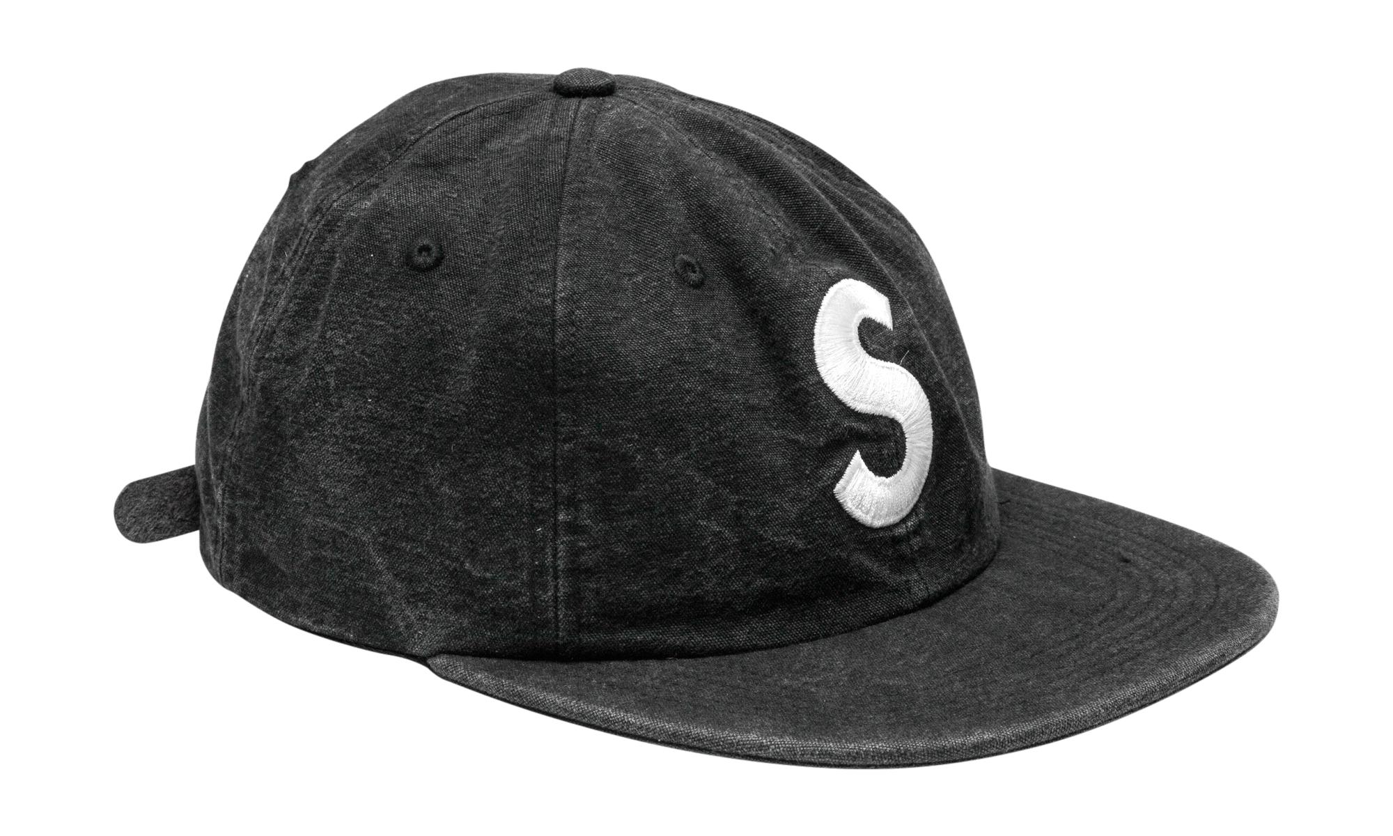 73814726ca6 Supreme - Black Washed Chambray S Logo 6-panel for Men - Lyst. View  fullscreen