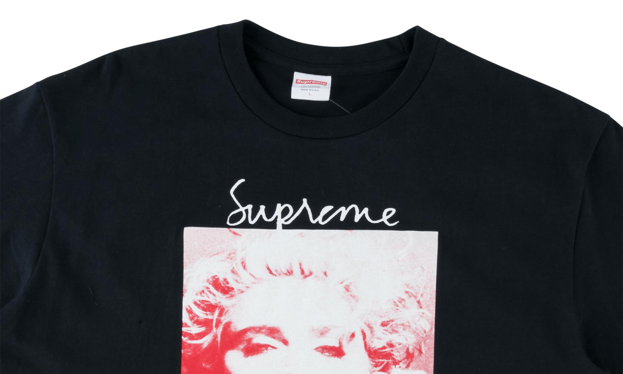 7eb5ca7c5 Supreme - Blue Madonna T-shirt 'fw 18' for Men - Lyst. View fullscreen