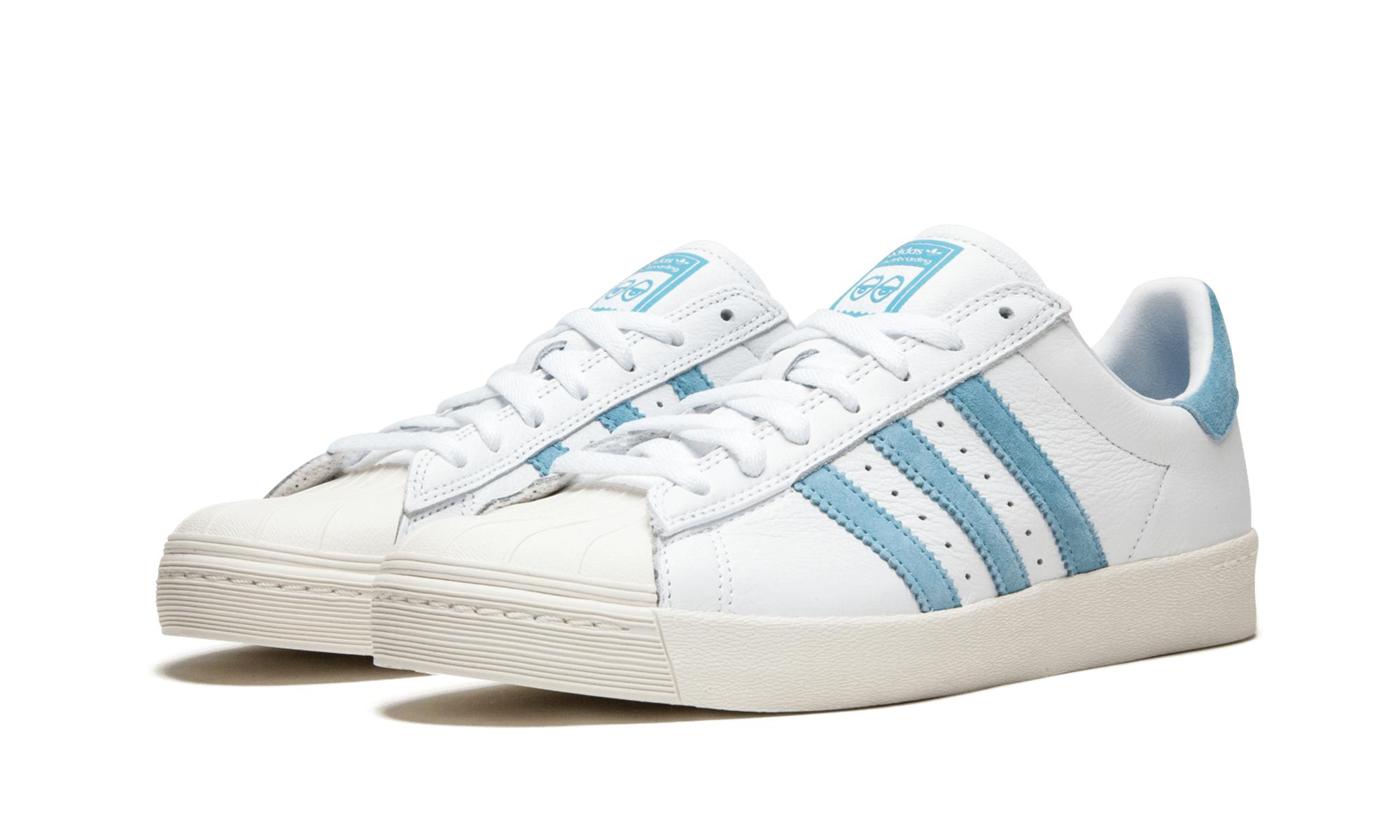 52988510a Adidas - Blue Superstar Vulc X Krooked for Men - Lyst. View fullscreen