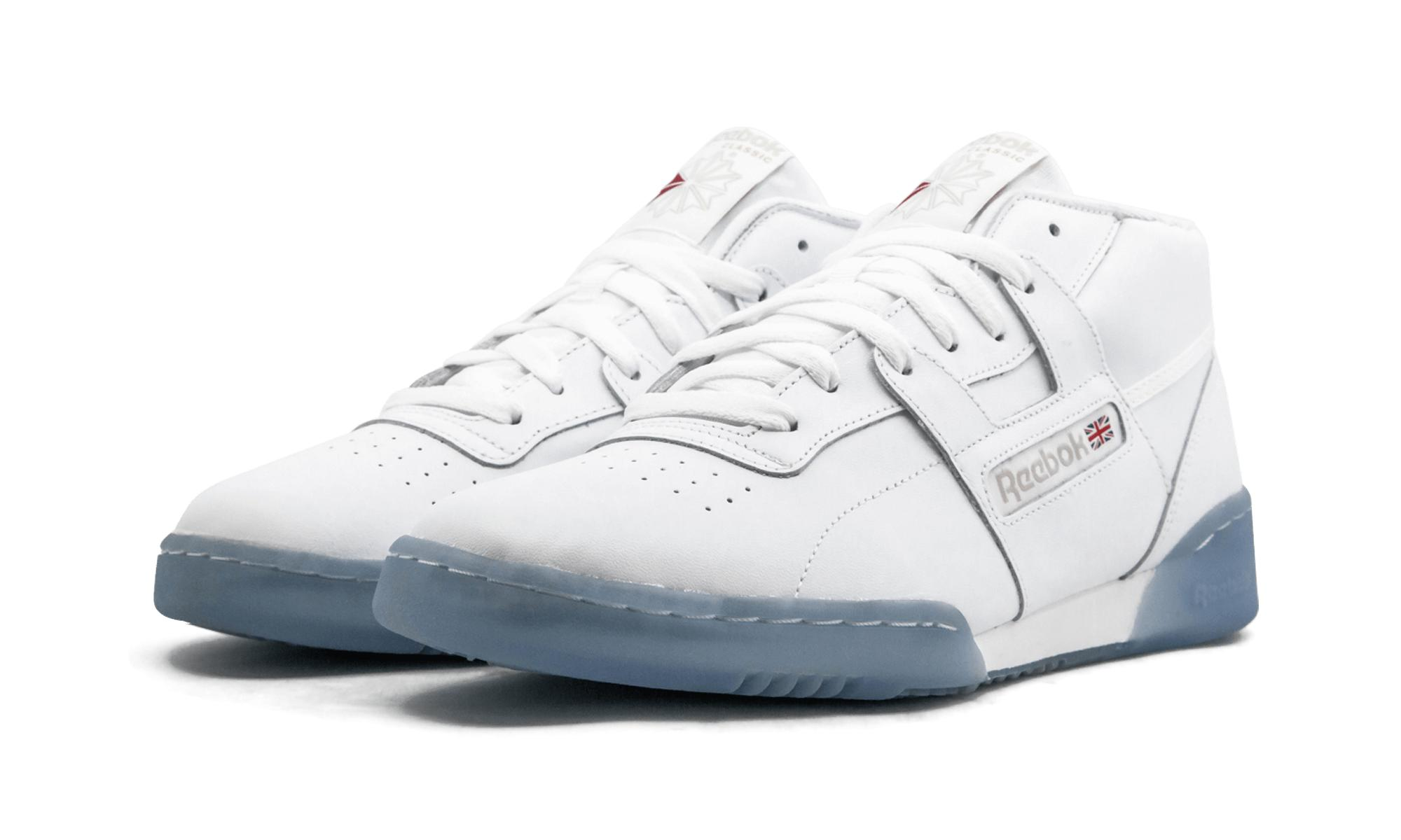 9780034cfa6 Reebok - White Workout Mid Clean Bwi for Men - Lyst. View fullscreen
