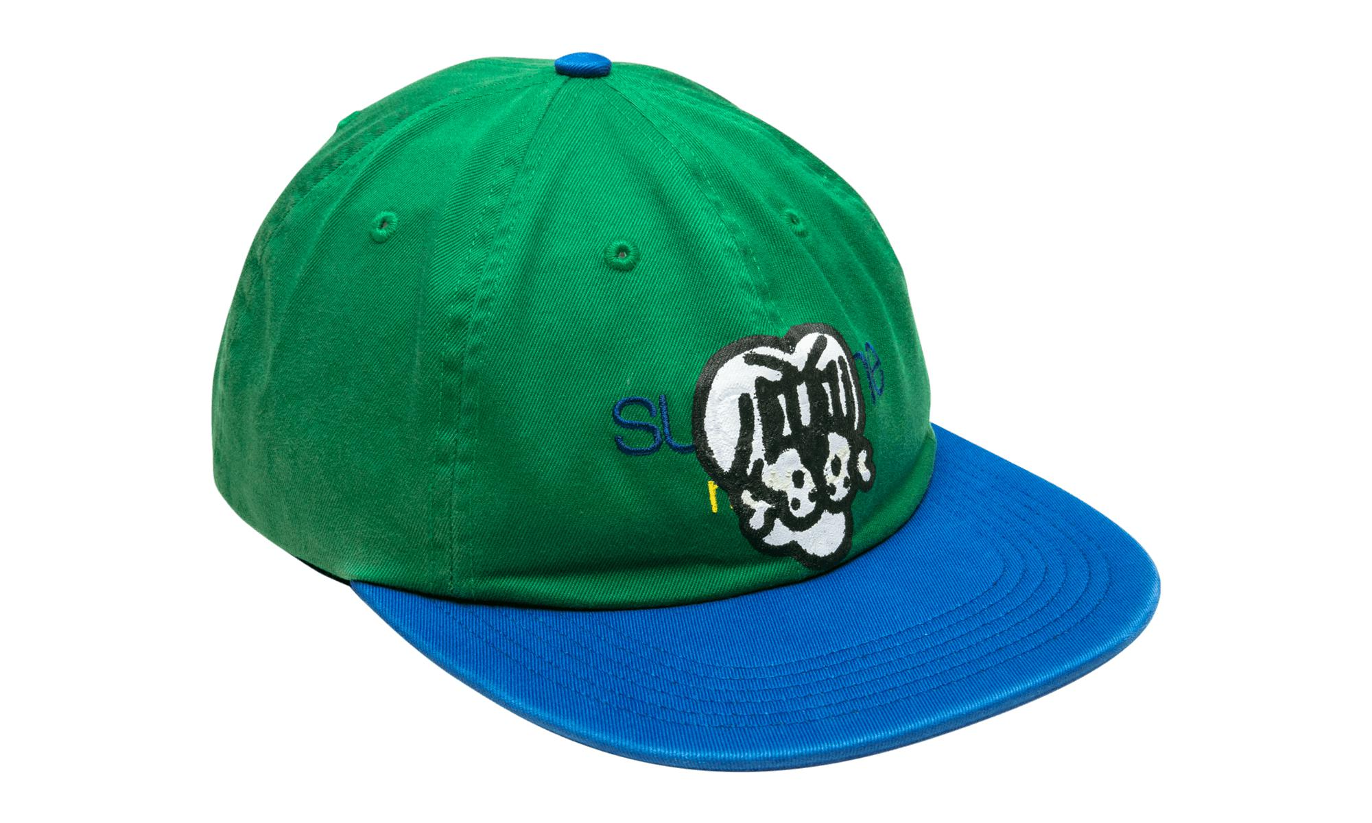 fa2bc09c2a1 Supreme - Bone Classic Logo 6-panel Green for Men - Lyst. View fullscreen
