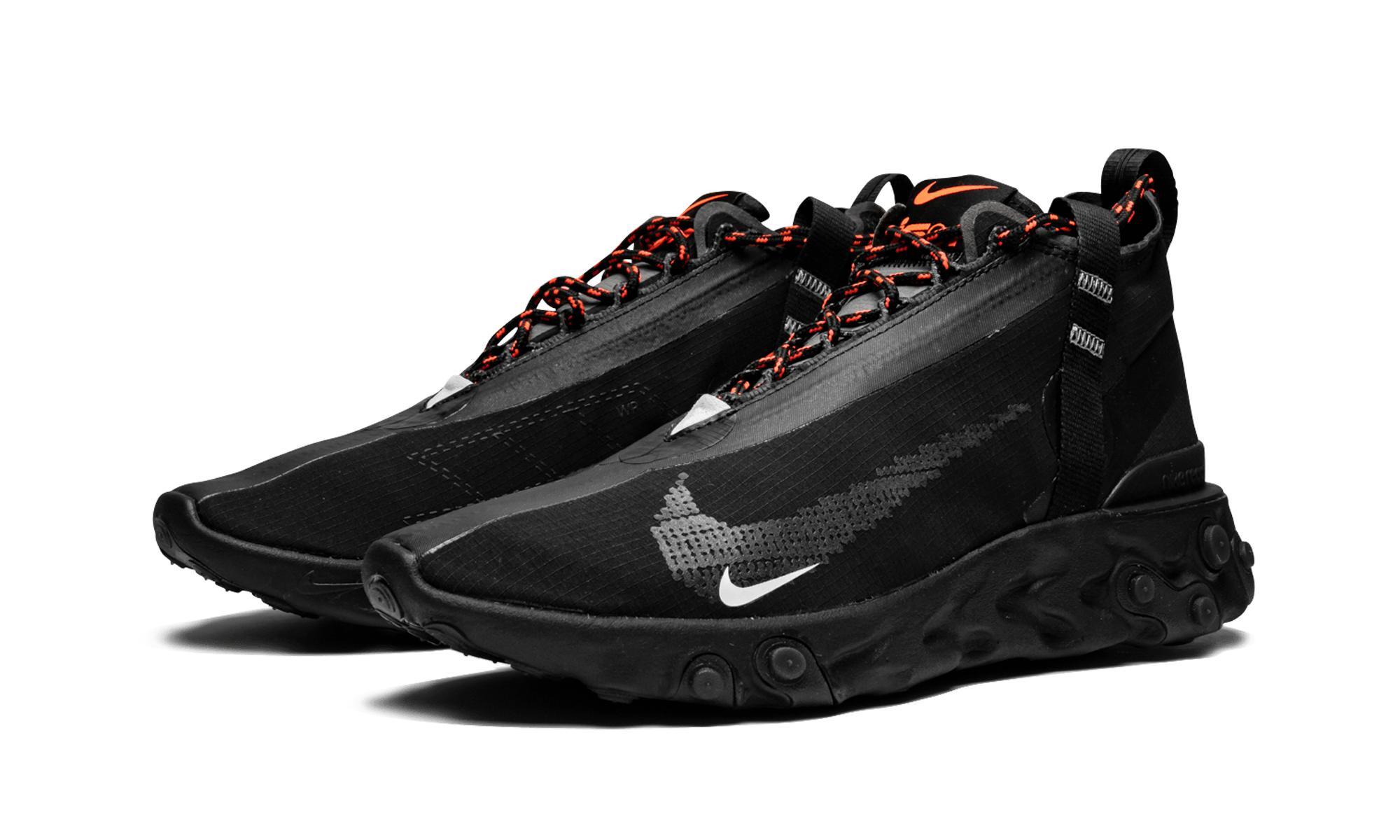 f5e62514bb3 Nike - Black React Runner Mid Wr Ispa for Men - Lyst. View fullscreen