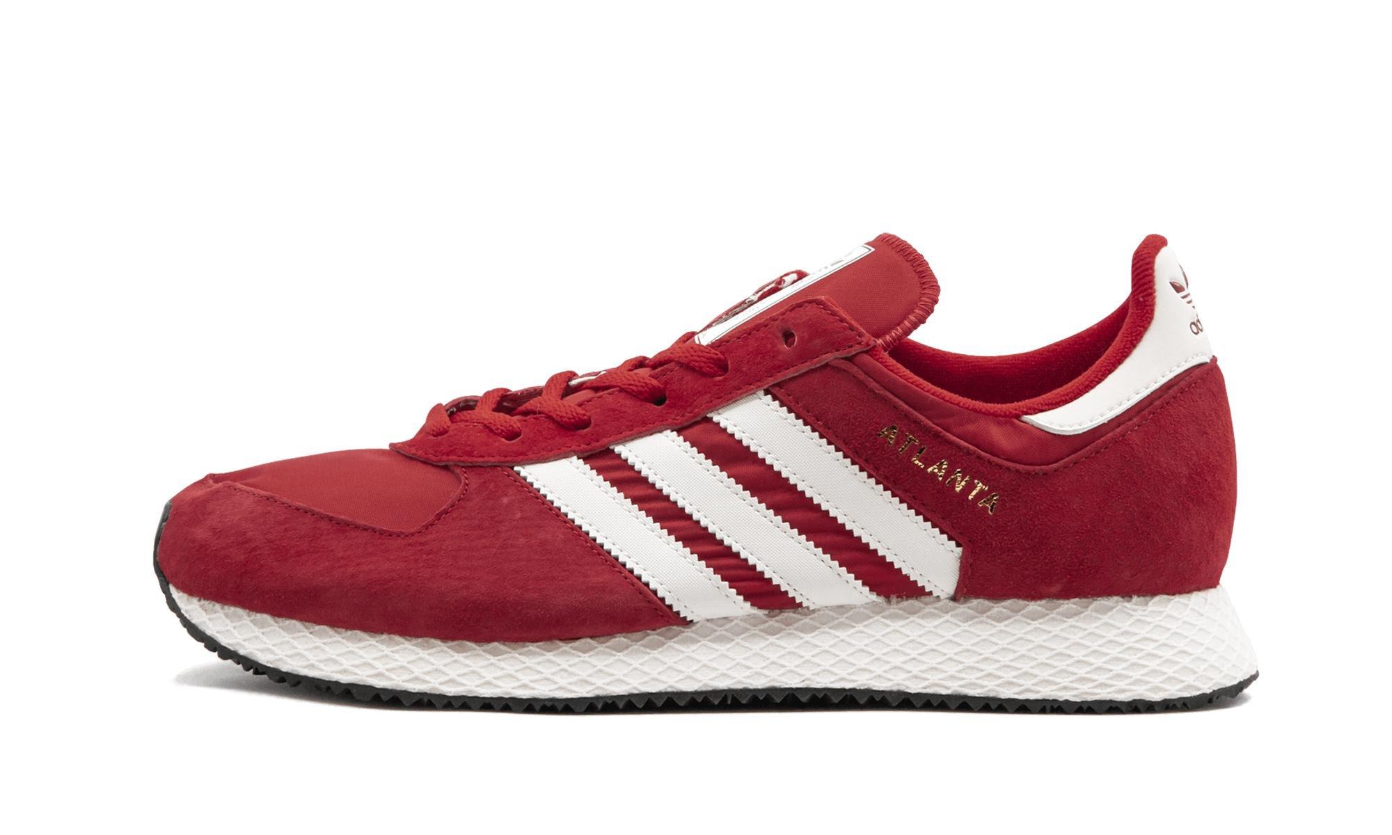 uk availability 14c4d a4c73 adidas. Mens Red Atlanta Spzl