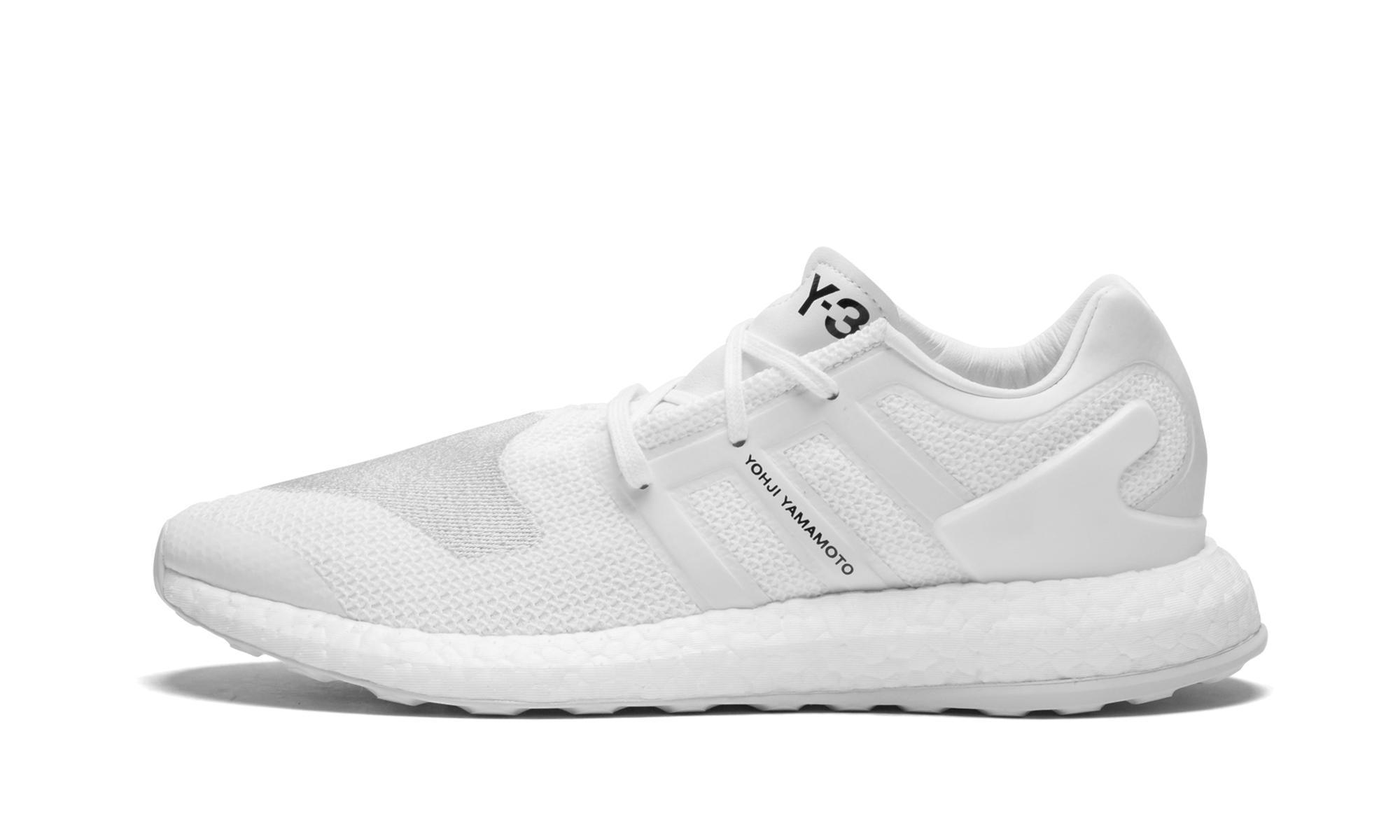 Lyst Adidas Y 3 Pureboost In Bianco Per Gli Uomini.