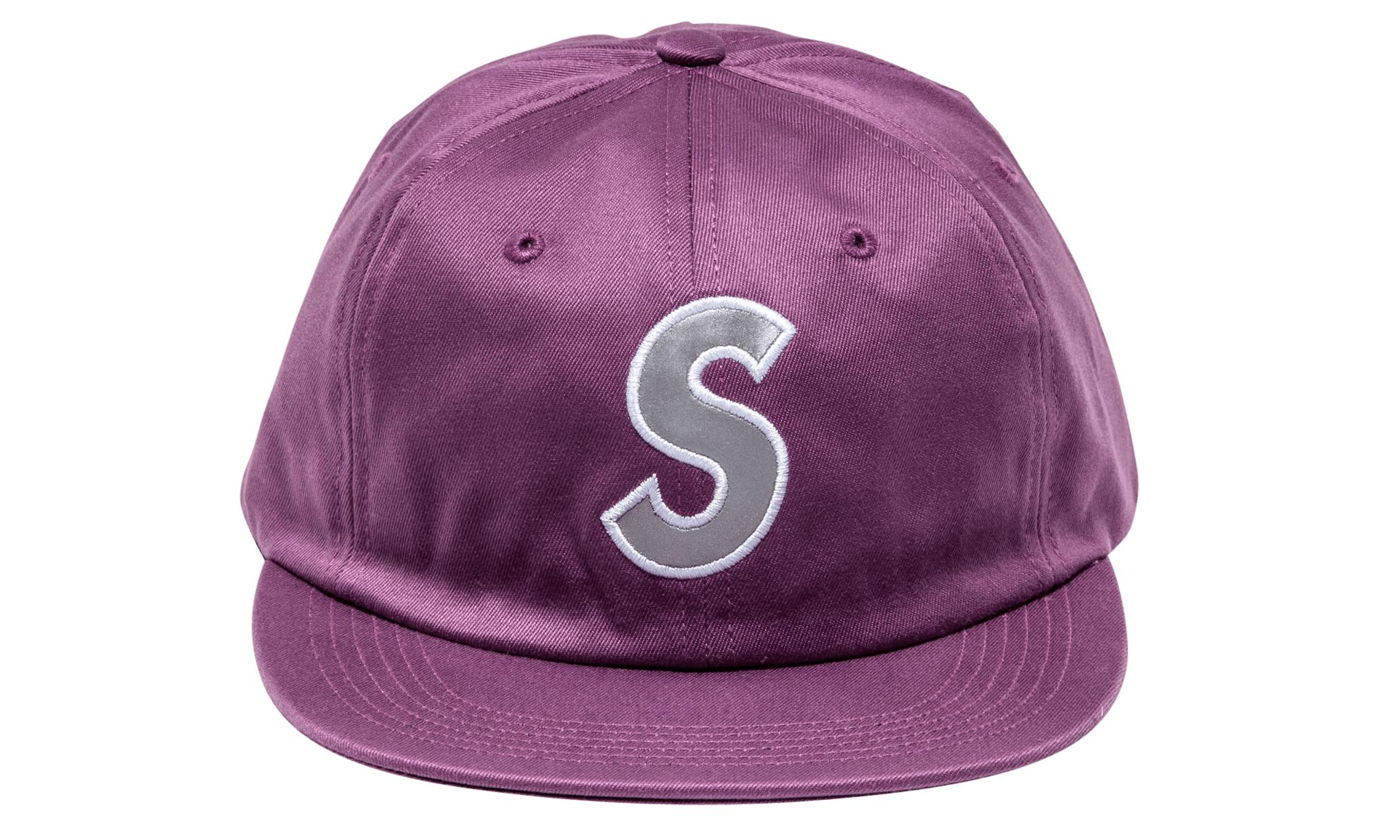 6ba1957e8c5 Supreme Reflective S Logo 6-panel in Purple for Men - Lyst