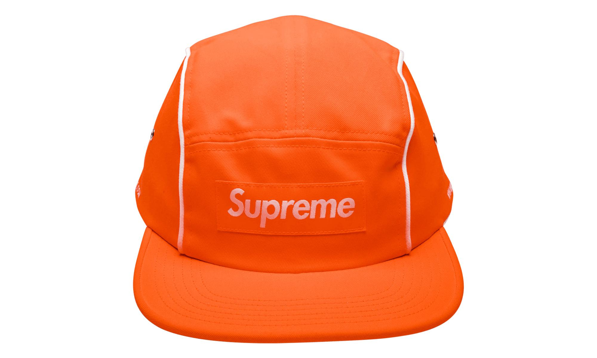 45451720 Supreme - Orange Piping Camp Cap for Men - Lyst. View fullscreen