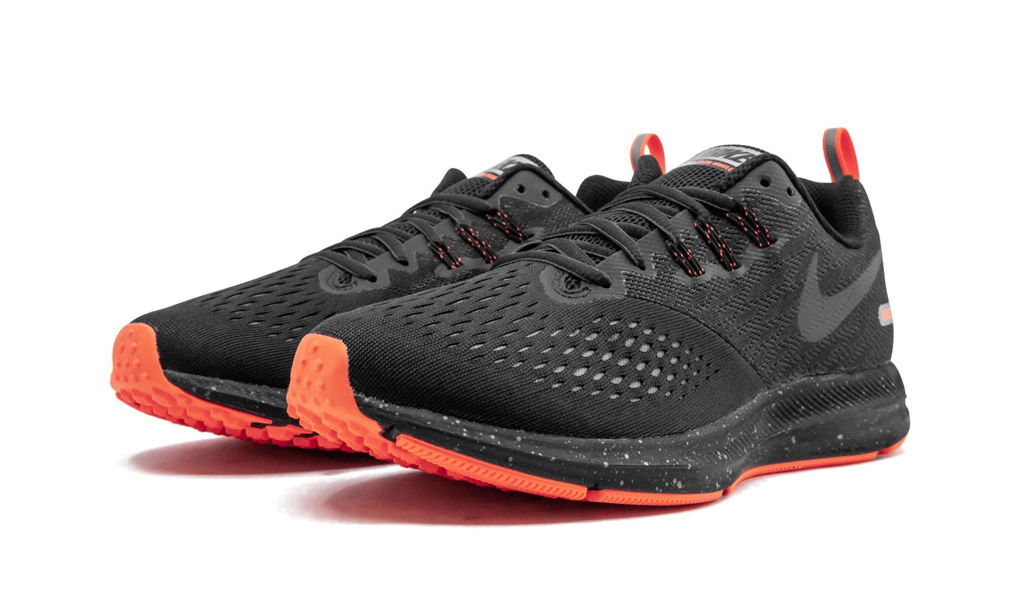 Lyst - Nike Zoom Winflo 4 Shield in Black for Men 9438474e4