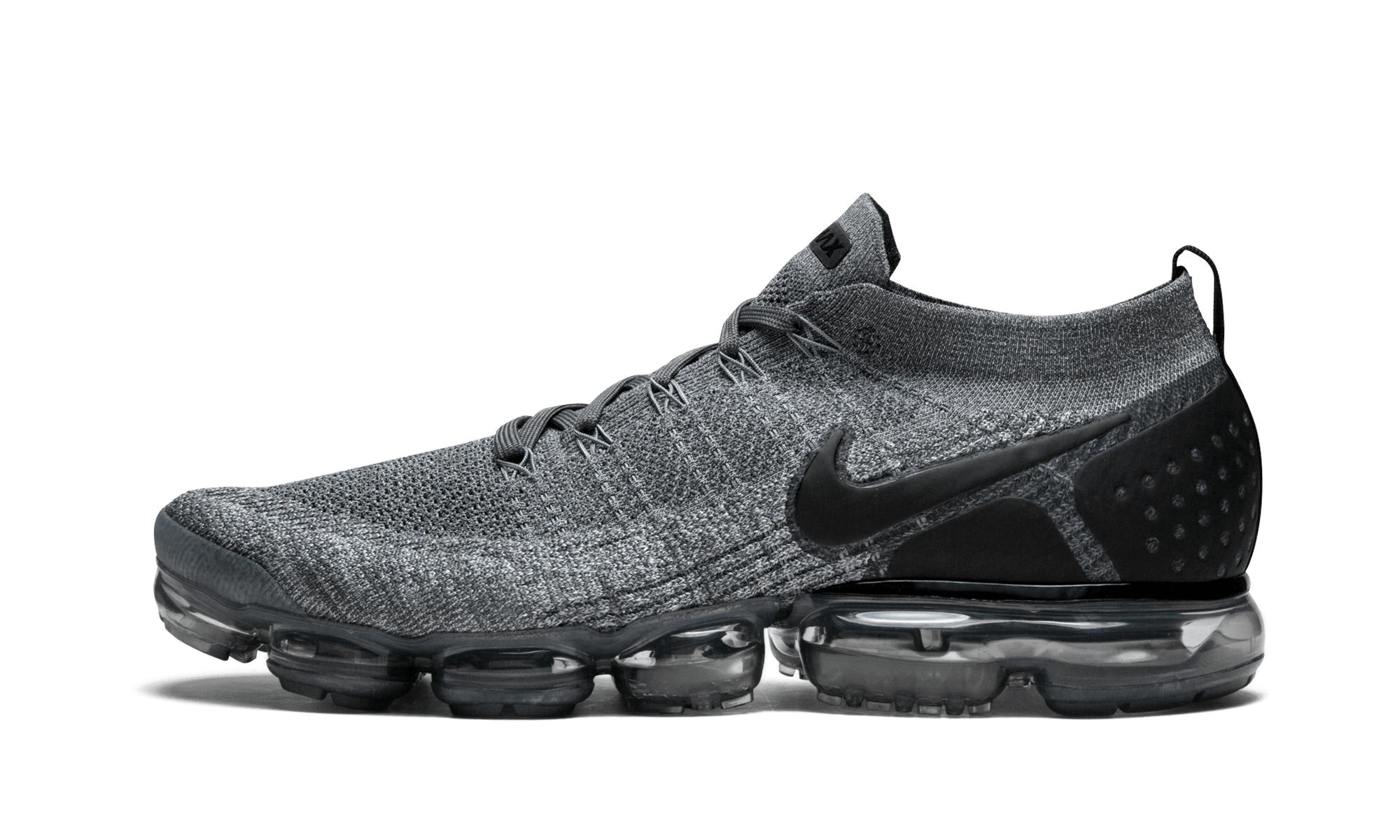 hot sales 20883 b07fe ... clearance lyst nike air vapormax flyknit 2 in gray for men 11d7b 6d049