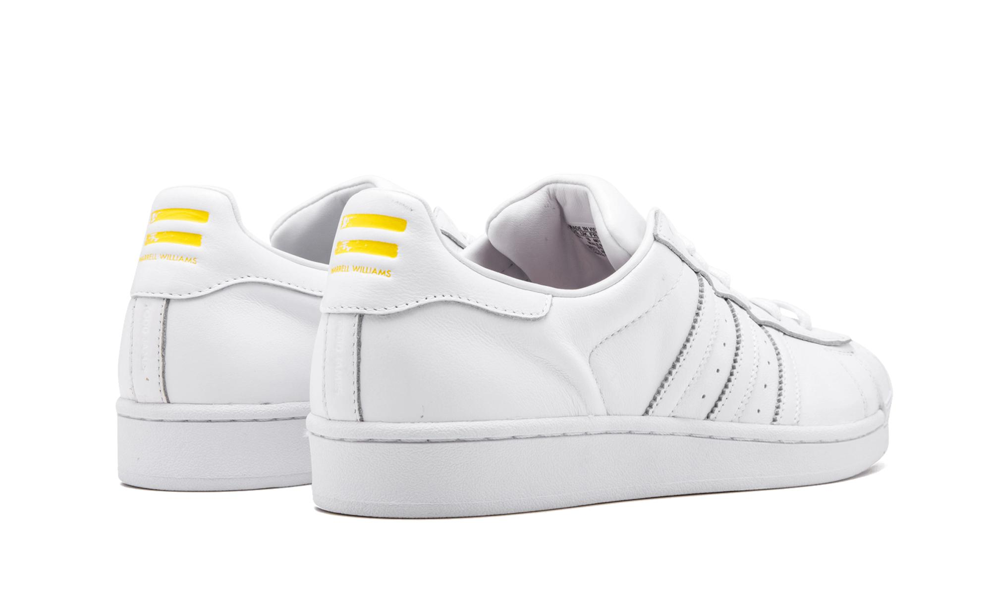 66f5975c3 Adidas - White Superstar Pharrell Supershell - Lyst. View fullscreen