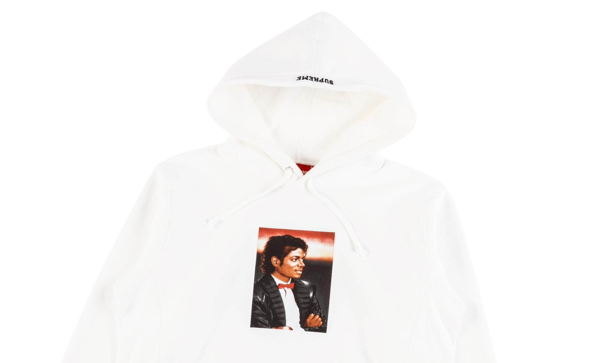 newest 96ba4 e7b14 Supreme - White Michael Jackson Hoodie for Men - Lyst. View fullscreen