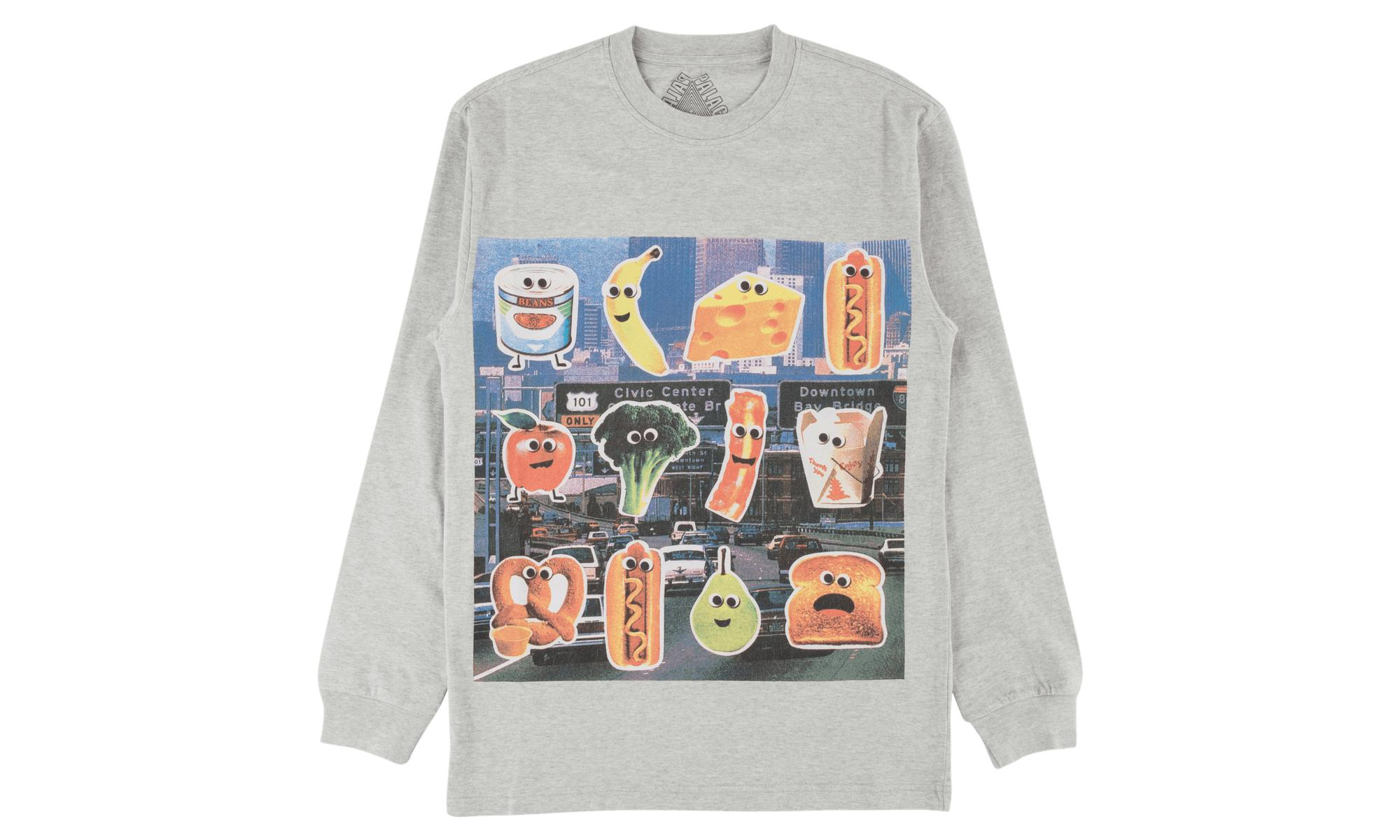 dc039c40a02c Lyst - Palace Payne Longsleeve in Gray for Men