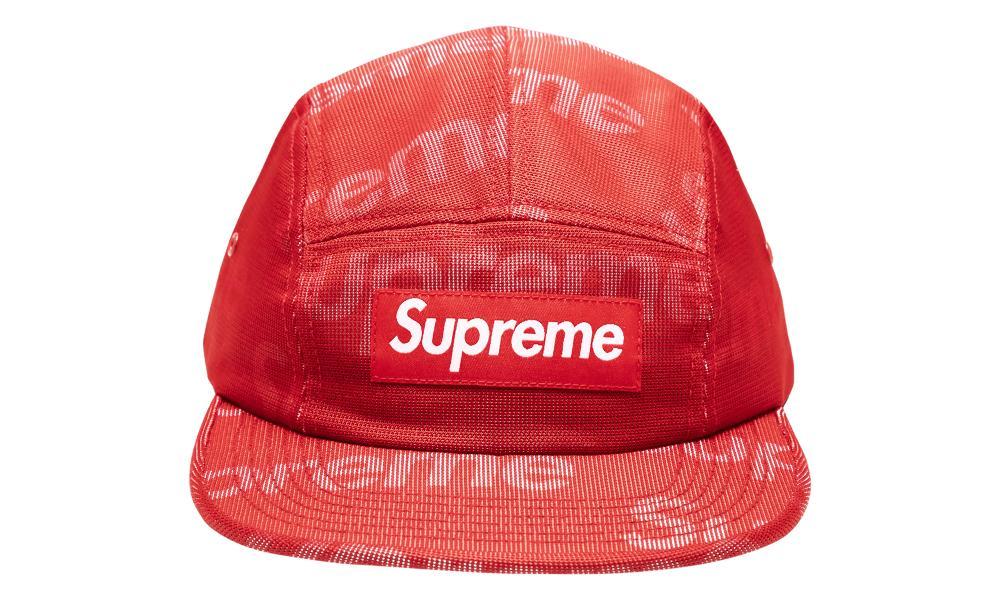 577292779 Supreme Lenticular Logo Camp Cap 'ss 19' in Red for Men - Lyst