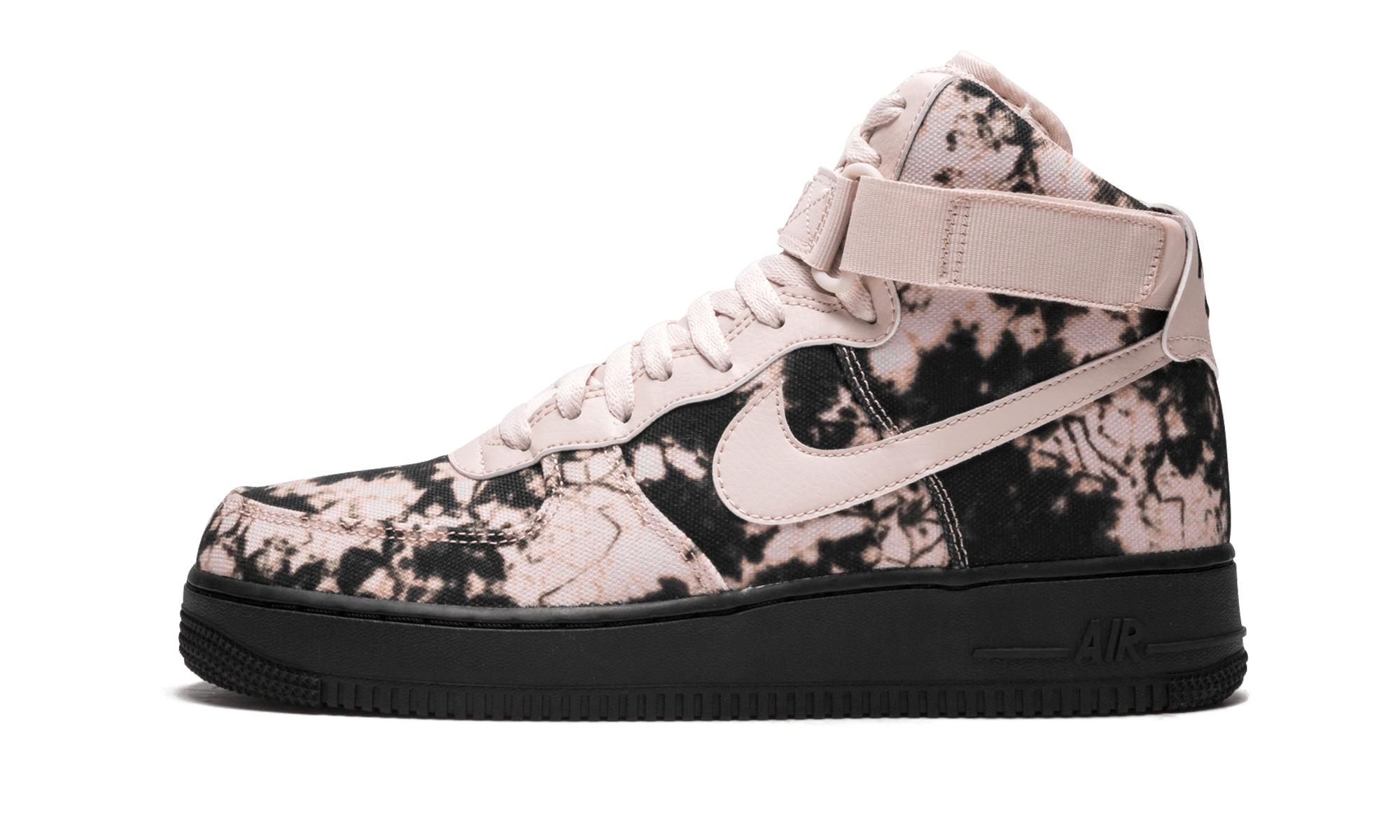 super popular 84d57 a1c34 Lyst - Nike Air Force 1 High Print in Black for Men
