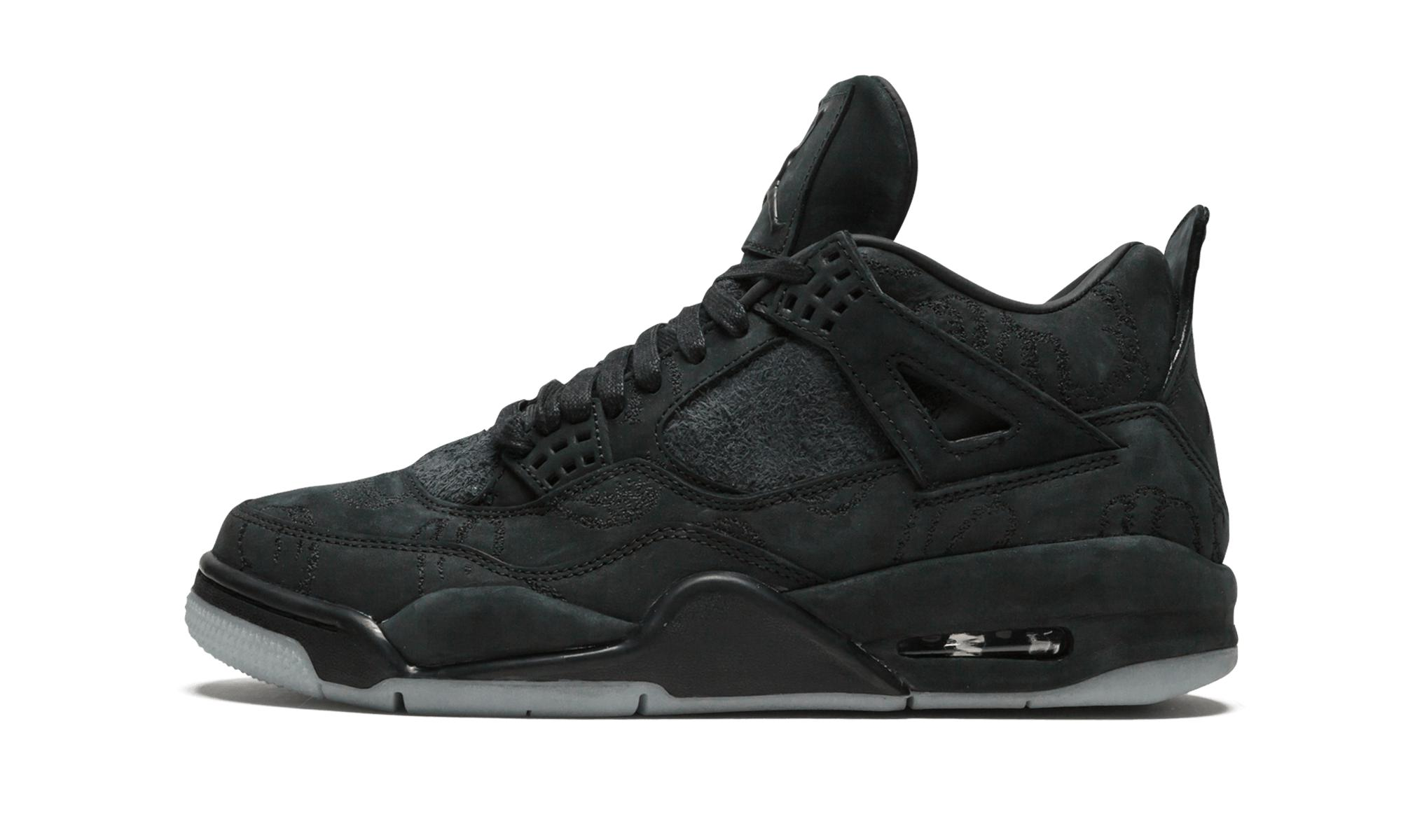 027c035d682 Lyst - Nike Air 4 Retro Kaws in Black for Men - Save 3%
