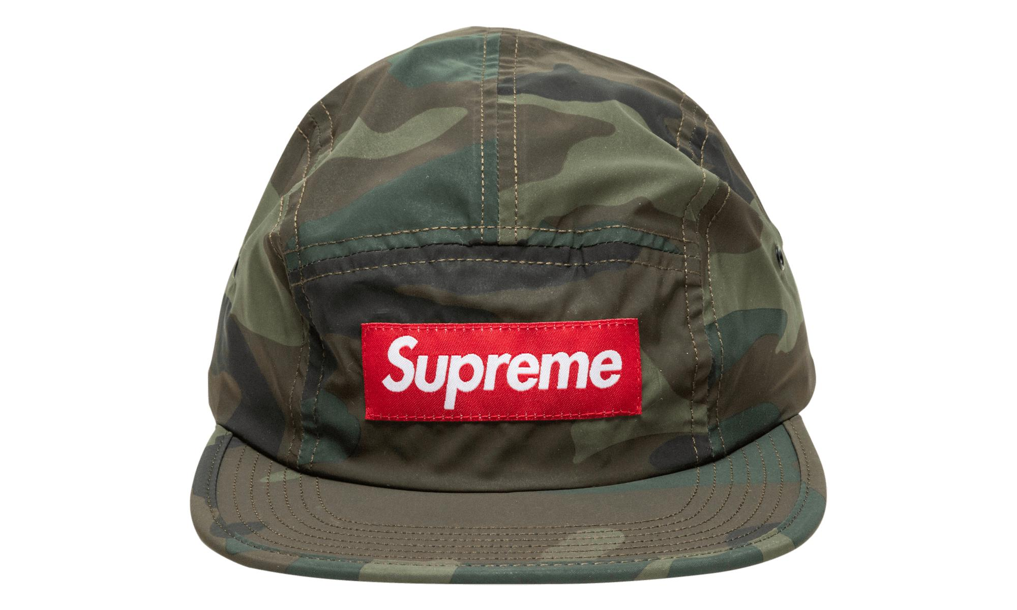 4f0090ee713 Lyst - Supreme Reflective Camo Camp Cap in Green for Men