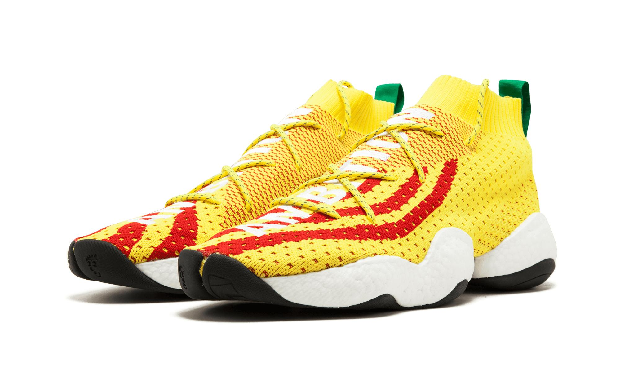 02a2d52a2 adidas Crazy Byw Pharrell Williams in Yellow for Men - Lyst