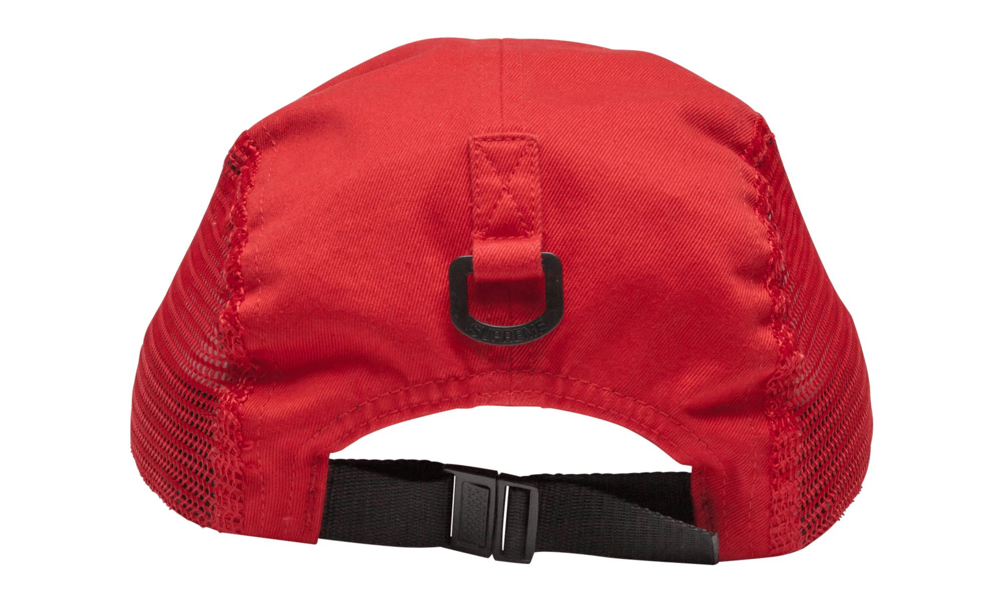 3ac6876a611 Supreme Side Zip Camp Cap Red in Red for Men - Lyst