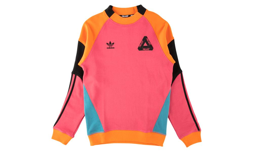 14774862 Palace Adidas Crewneck T-shirt in Pink for Men - Lyst