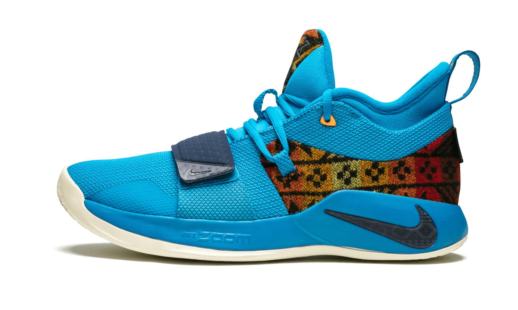 64899cf8b97 Nike Pg 2.5 Pendleton in Blue for Men - Lyst