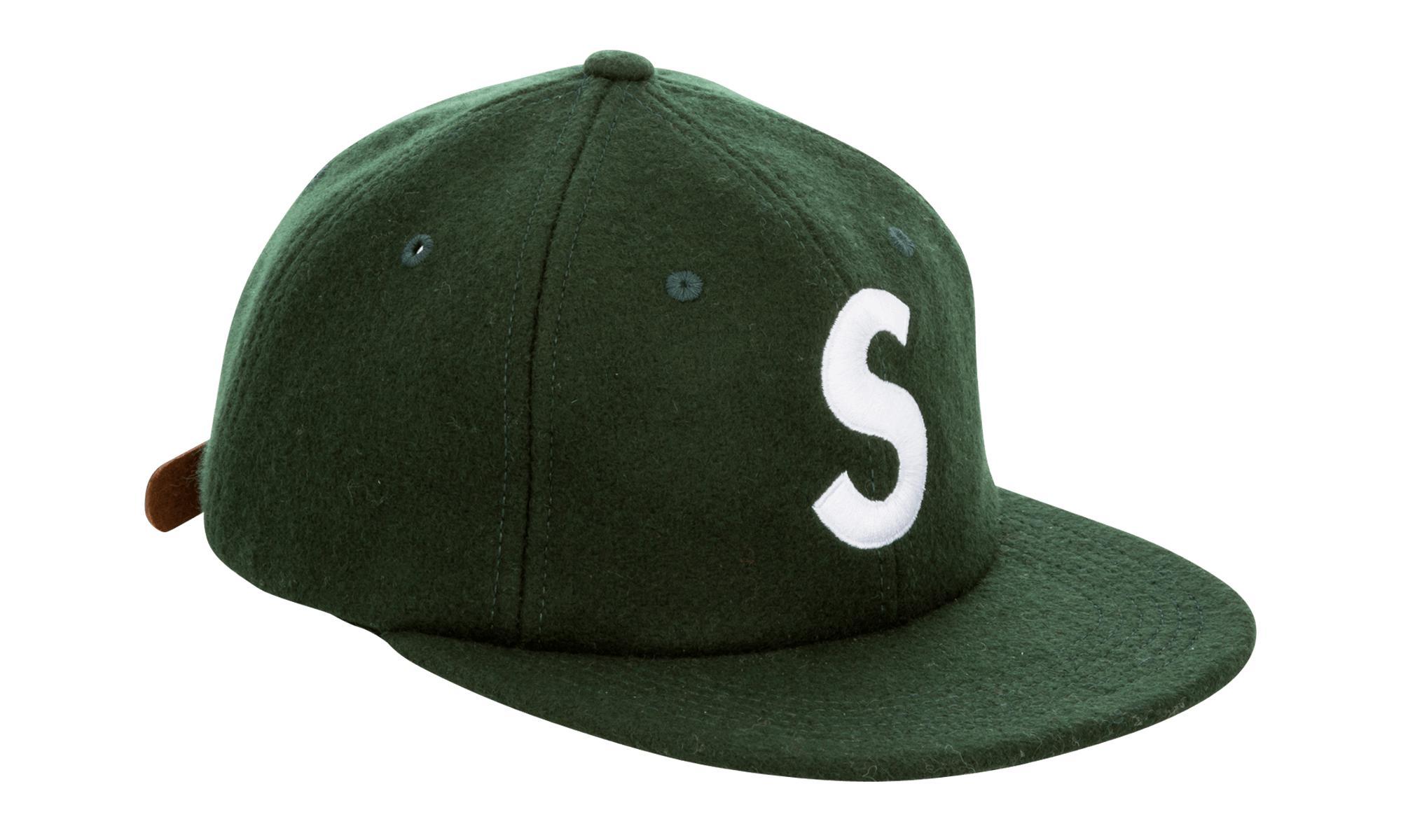 ff88cb59 Supreme - Green S Logo 6-panel for Men - Lyst. View fullscreen