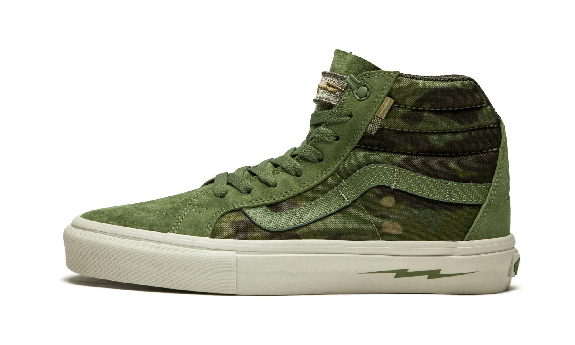 Lyst - Vans Sk8-hi Notchback Pro in Green for Men 384061e7a