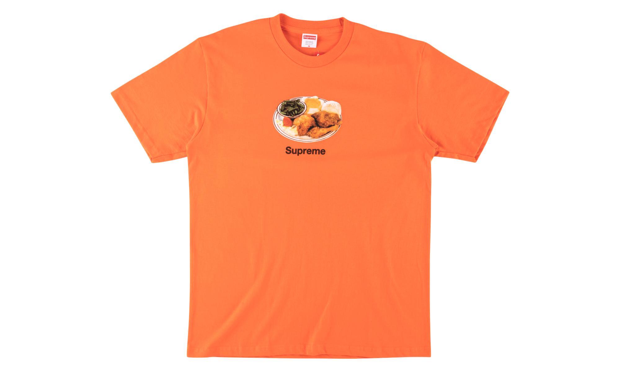 05a7c528cb0a Supreme Chicken Dinner Tee in Orange for Men - Lyst