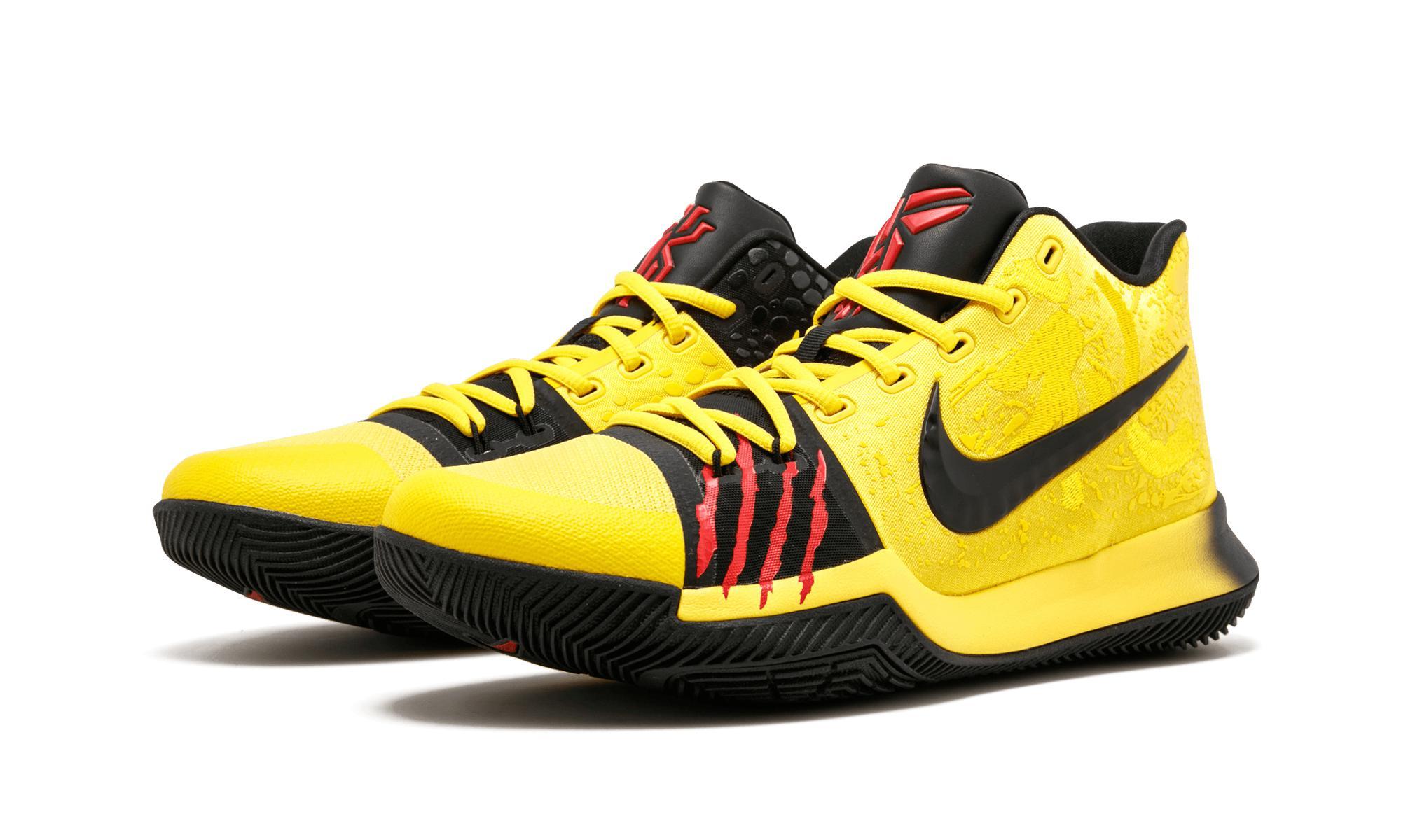 b3a0e32f890e Nike - Yellow Kyrie 3 Mm for Men - Lyst. View fullscreen