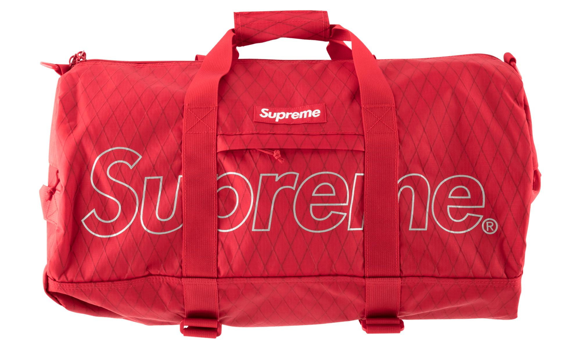 a47941d10df0 Supreme Duffle Bag in Red for Men - Lyst