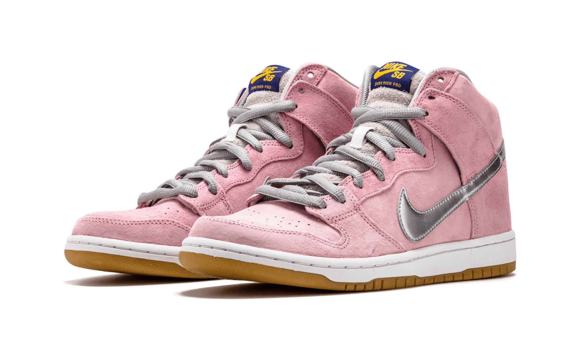 buy popular 00cbd 9bfa9 Lyst - Nike Dunk High Pro Premium Sb in Pink for Men