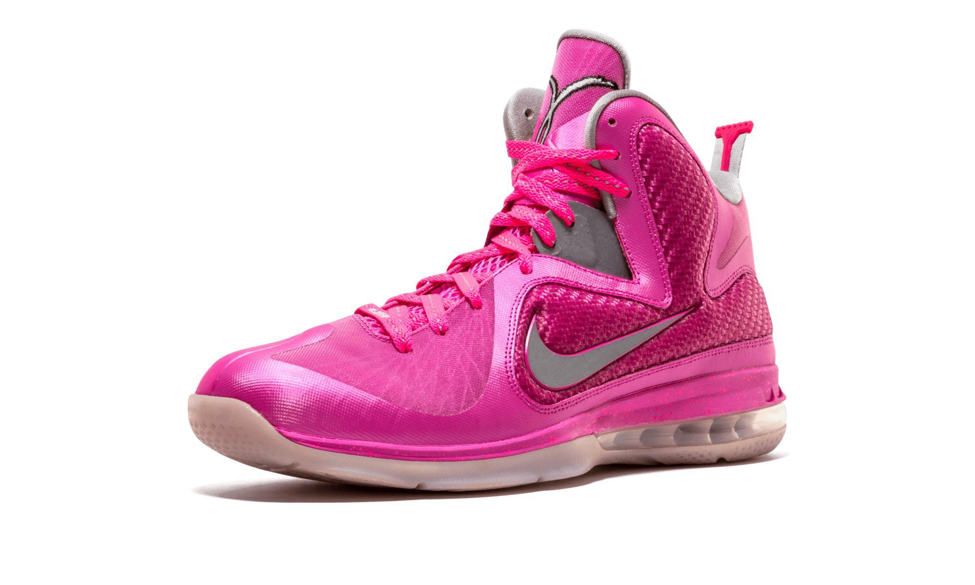 42fbe87efe7d Nike - Pink Lebron 9 - Lyst. View fullscreen