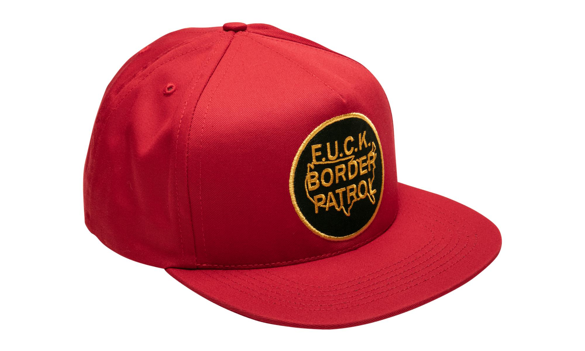 2ddaa115 Supreme Border Patrol 5-panel in Red for Men - Lyst