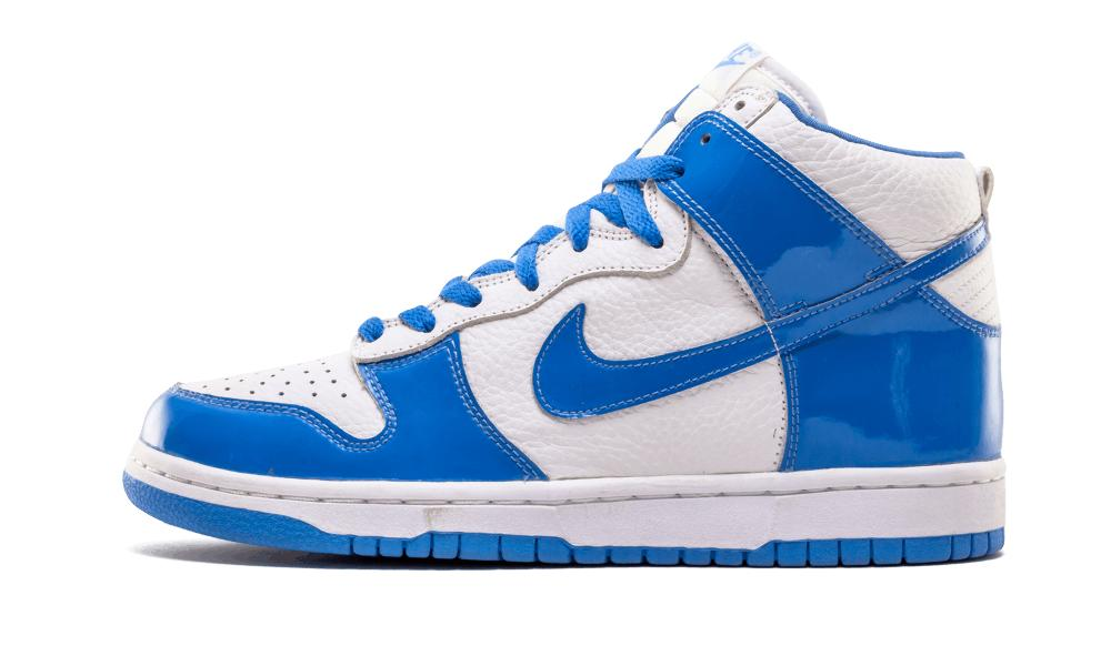 0a2601fe Lyst - Nike Dunk High White/carolina Blue in Blue for Men