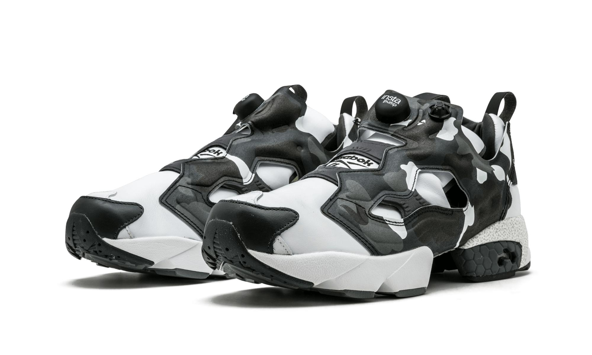 competitive price a0a12 6c4ed Reebok - White Instapump Fury Mita Bape - Size 9 for Men - Lyst. View  fullscreen