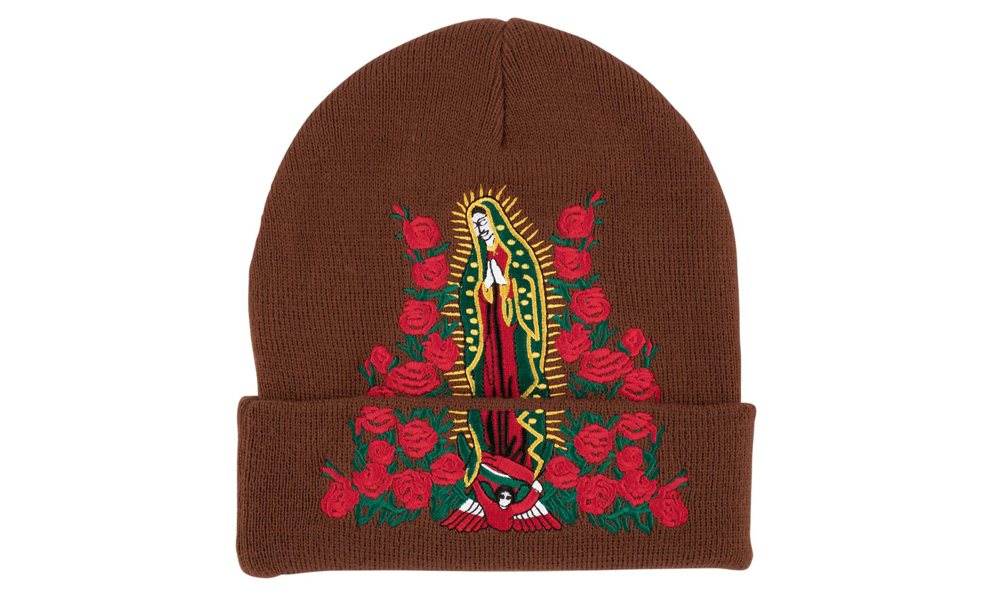 20ccf593f Supreme Guadalupe Beanie in Brown for Men - Lyst