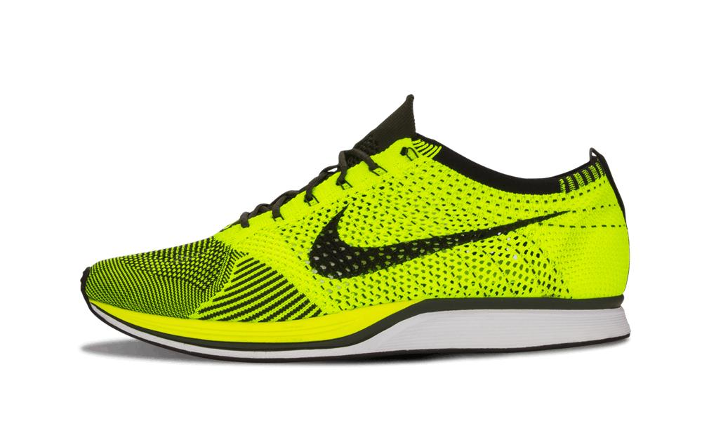 2f9957acbc533 Lyst - Nike Flyknit Racer in Yellow for Men - Save 10%