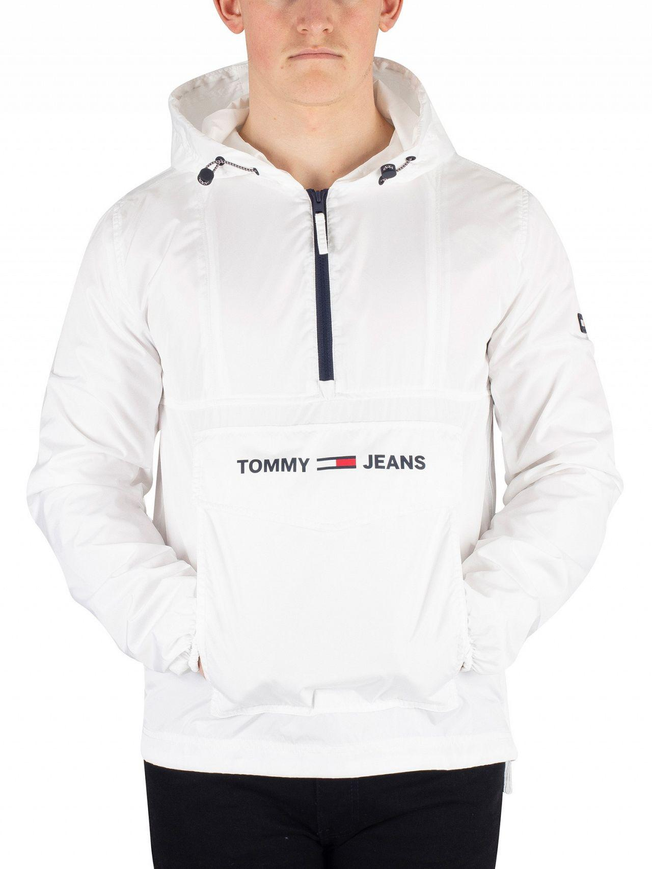 e2aed7acb Tommy Hilfiger Nylon Pullover Jacket in White for Men - Save 1% - Lyst