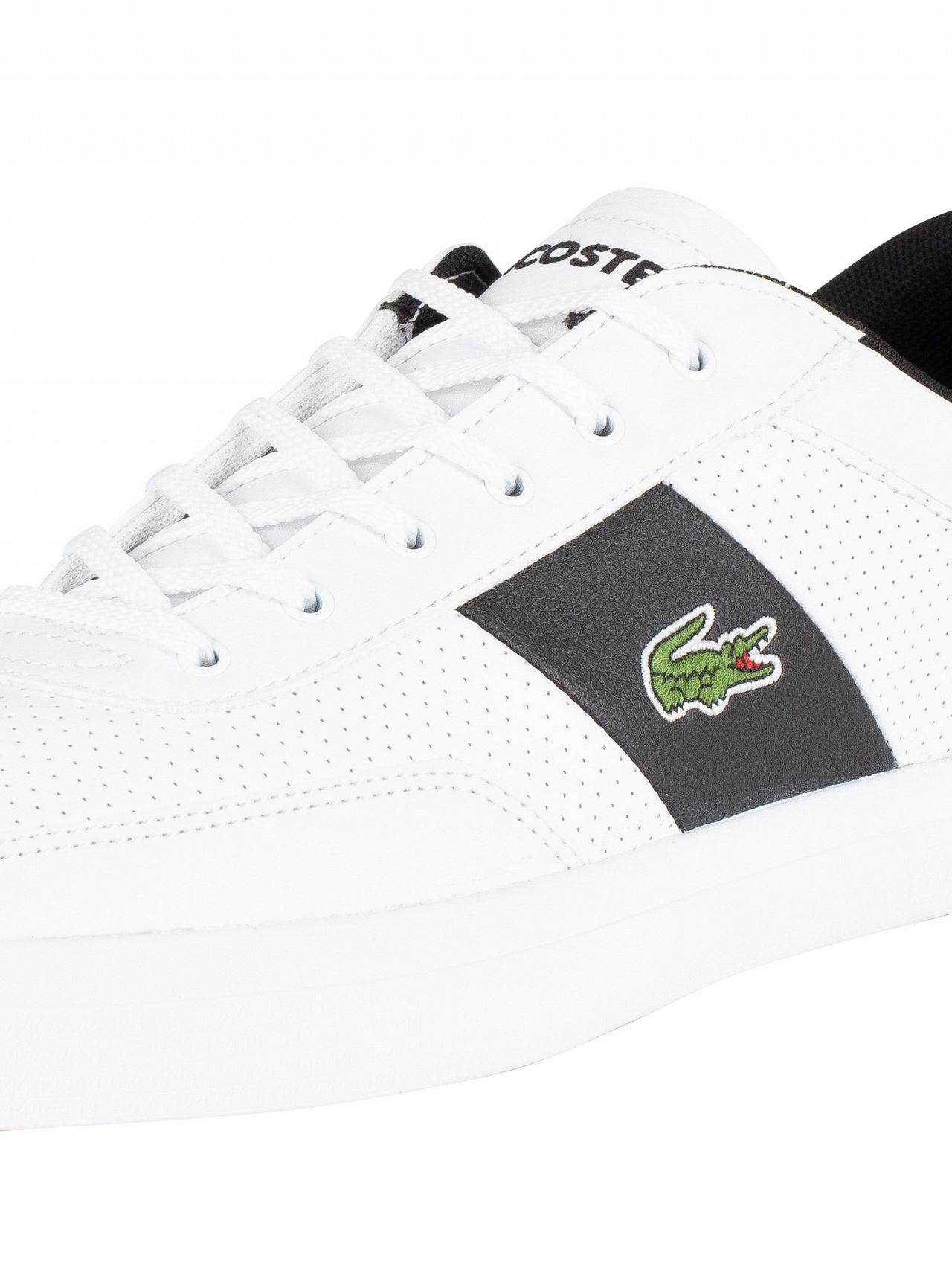 009b63e60 Lacoste White black Court-master 119 2 Leather Trainers in White for Men -  Save 1% - Lyst