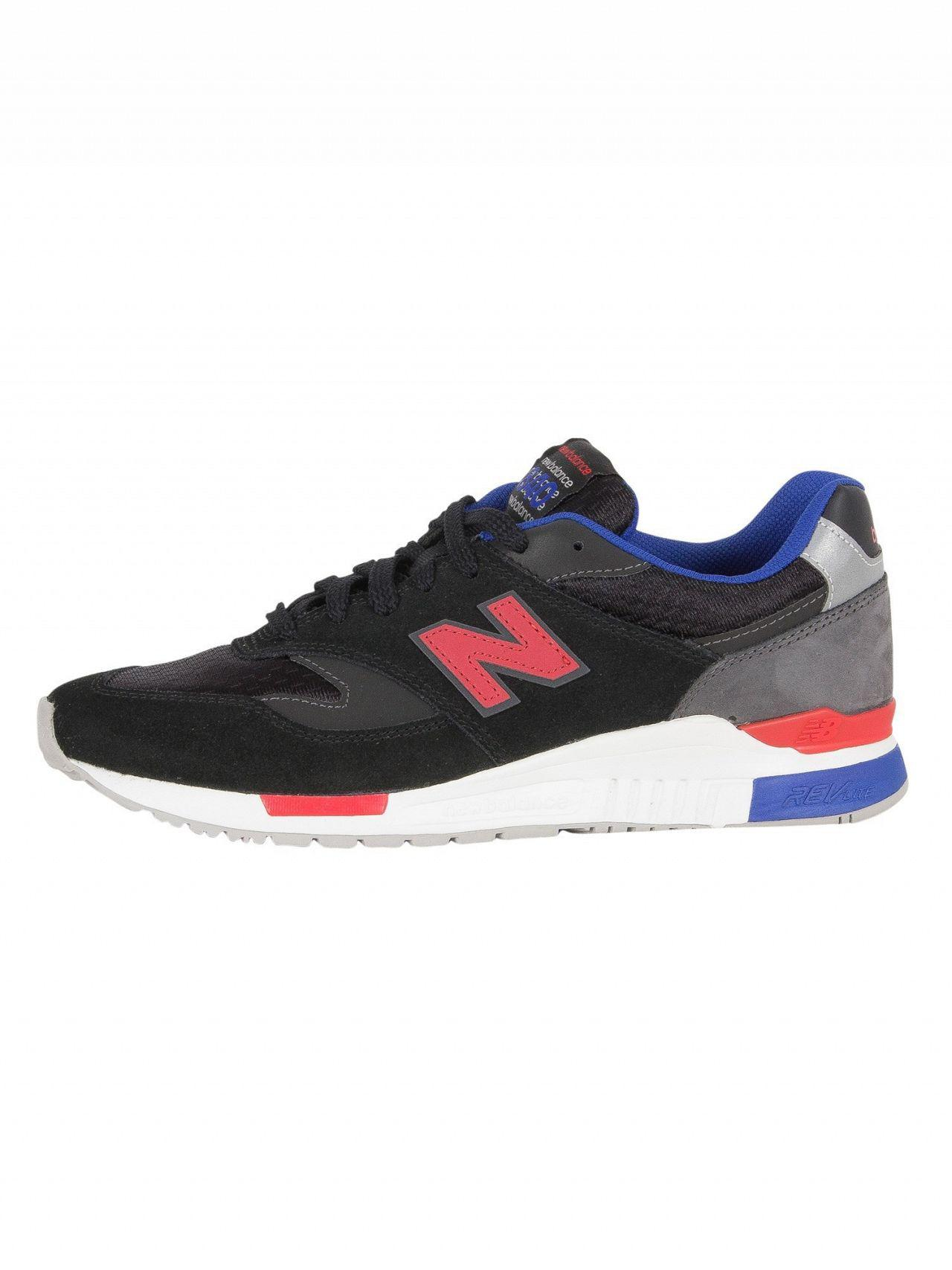 New Balance - Black magnet 840 Suede Trainers for Men - Lyst. View  fullscreen a49273cc1b53