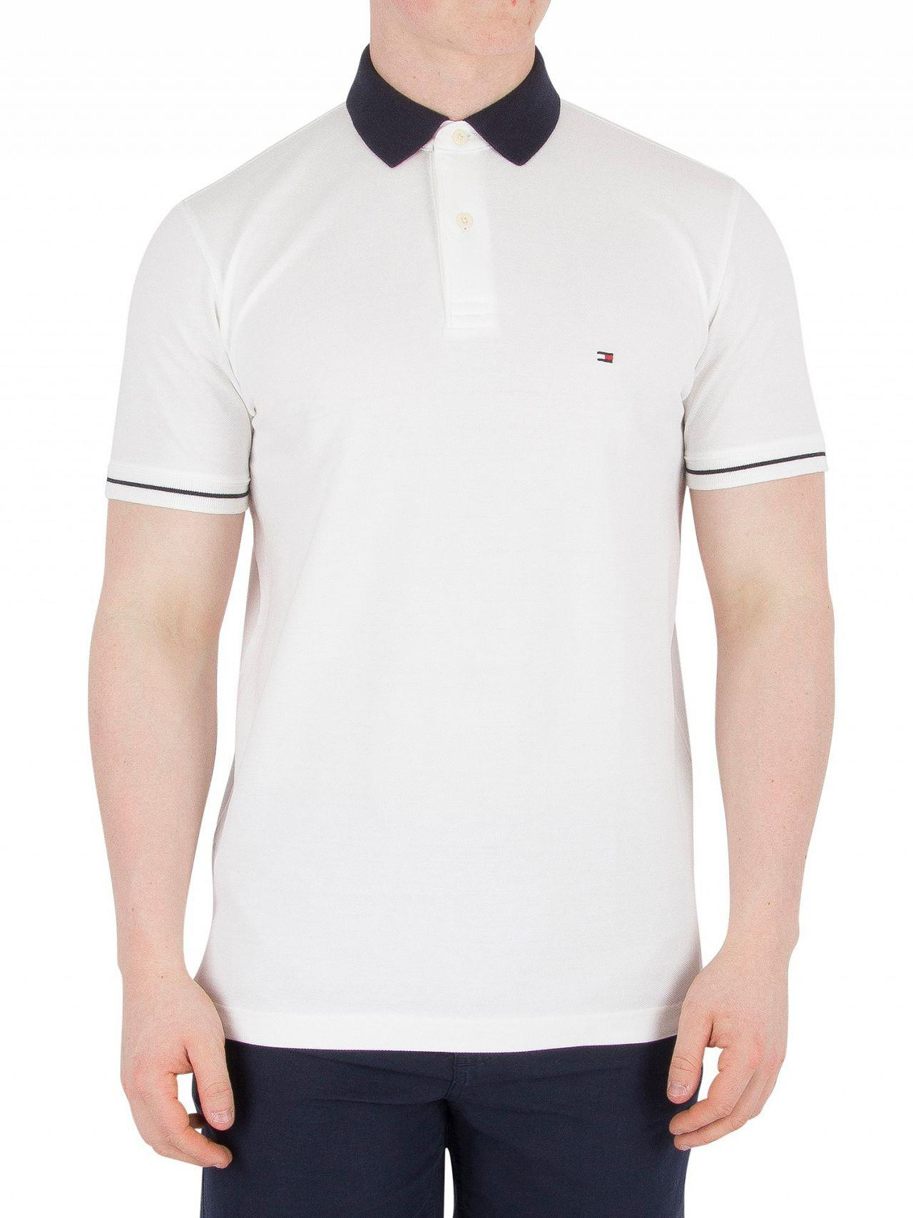 723087fc7 Tommy Hilfiger Bright White 1985 Regular Fit Polo Shirt in White for ...