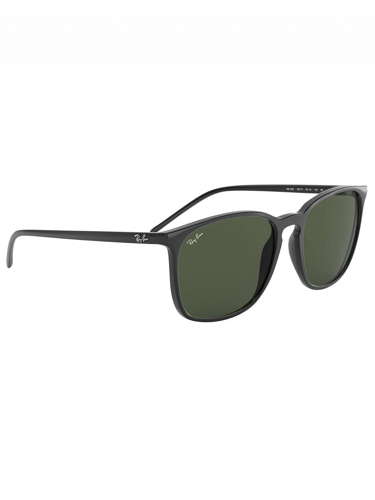 712c670d1b Ray-Ban - Black Rb4387 Square Sunglasses for Men - Lyst. View fullscreen