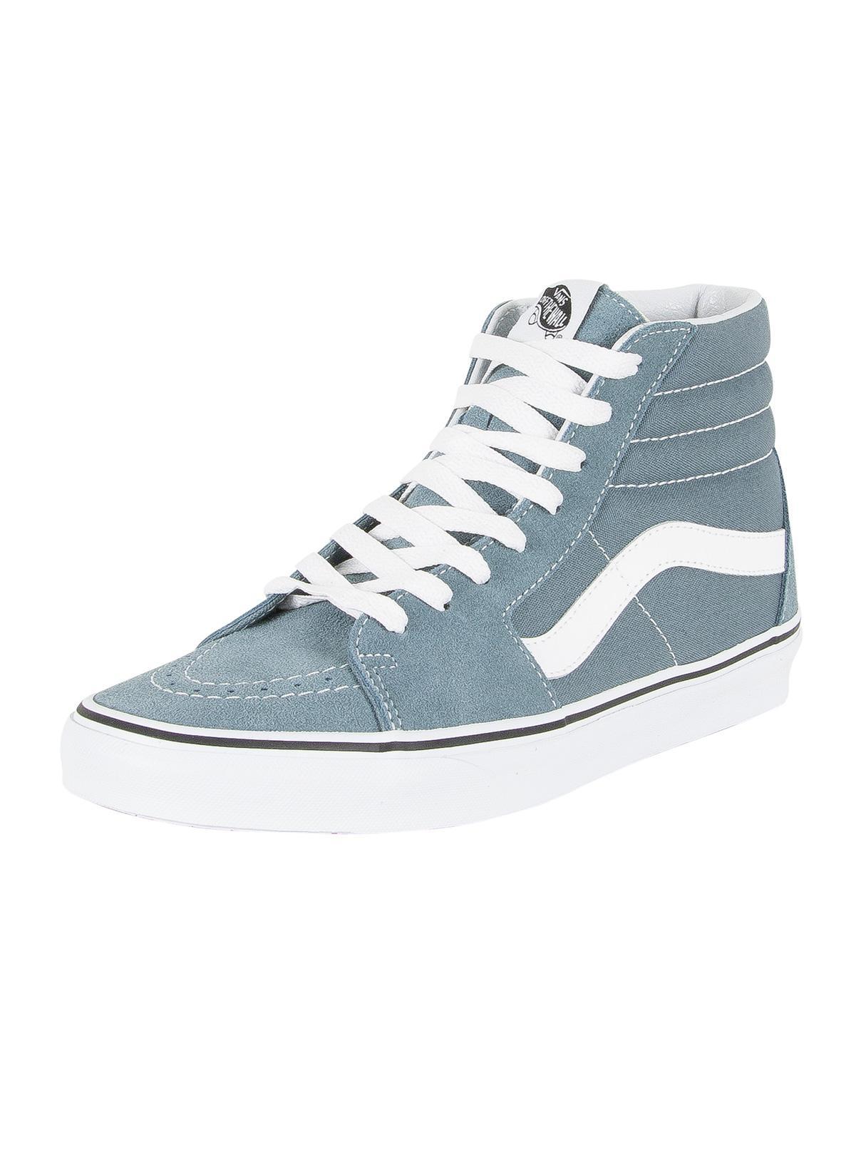 72d4074a55 Lyst - Vans Goblin Blue true White Sk8-hi Trainers in Blue for Men
