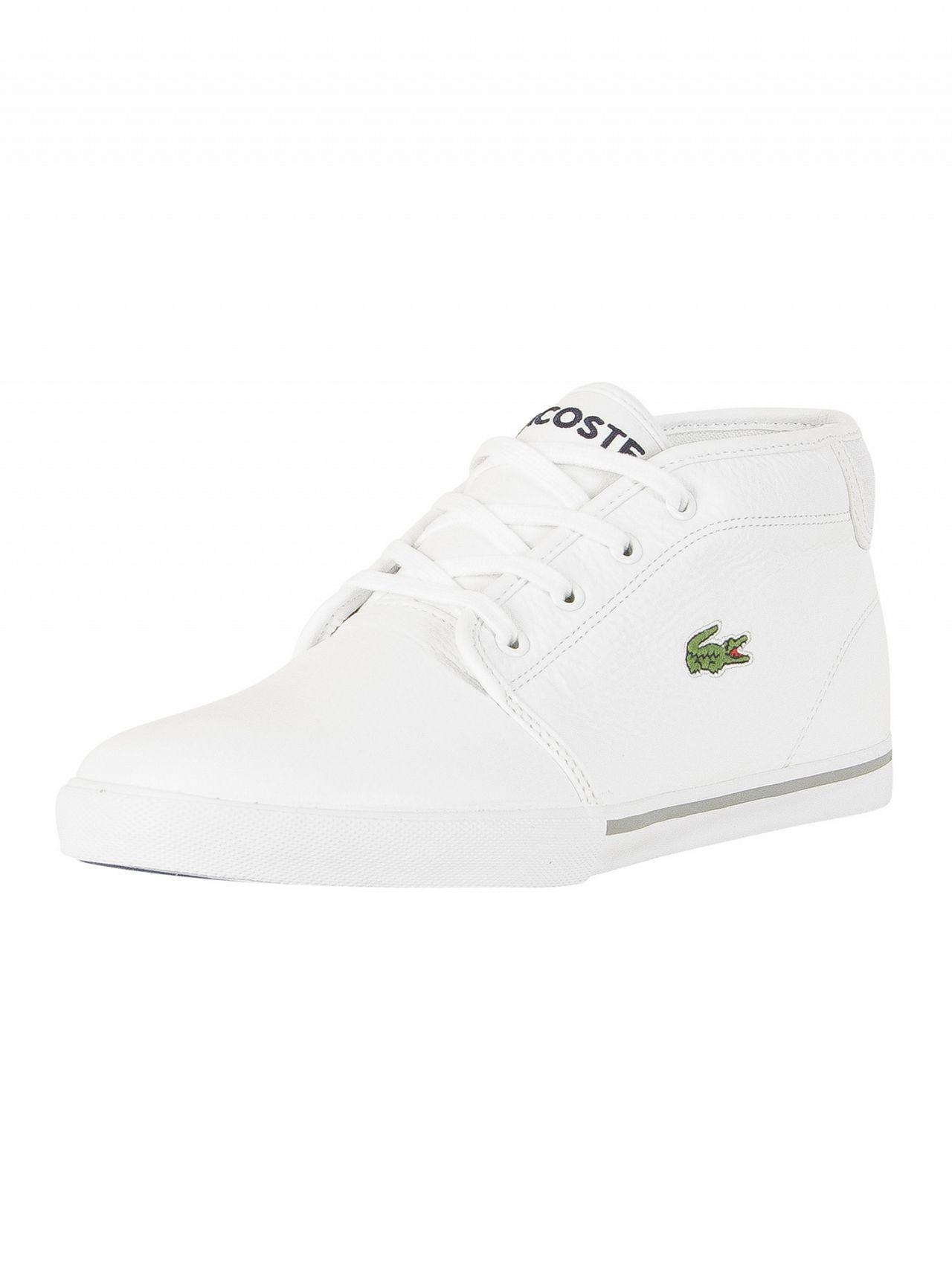 18907cfd04bb90 Lacoste White white Ampthill Lcr3 Spm Trainers in White for Men - Lyst