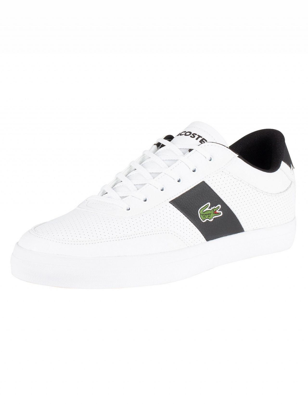 85033d9cf Tap to visit site. Lacoste - White/black Court-master 119 2 Leather  Trainers for Men - Lyst