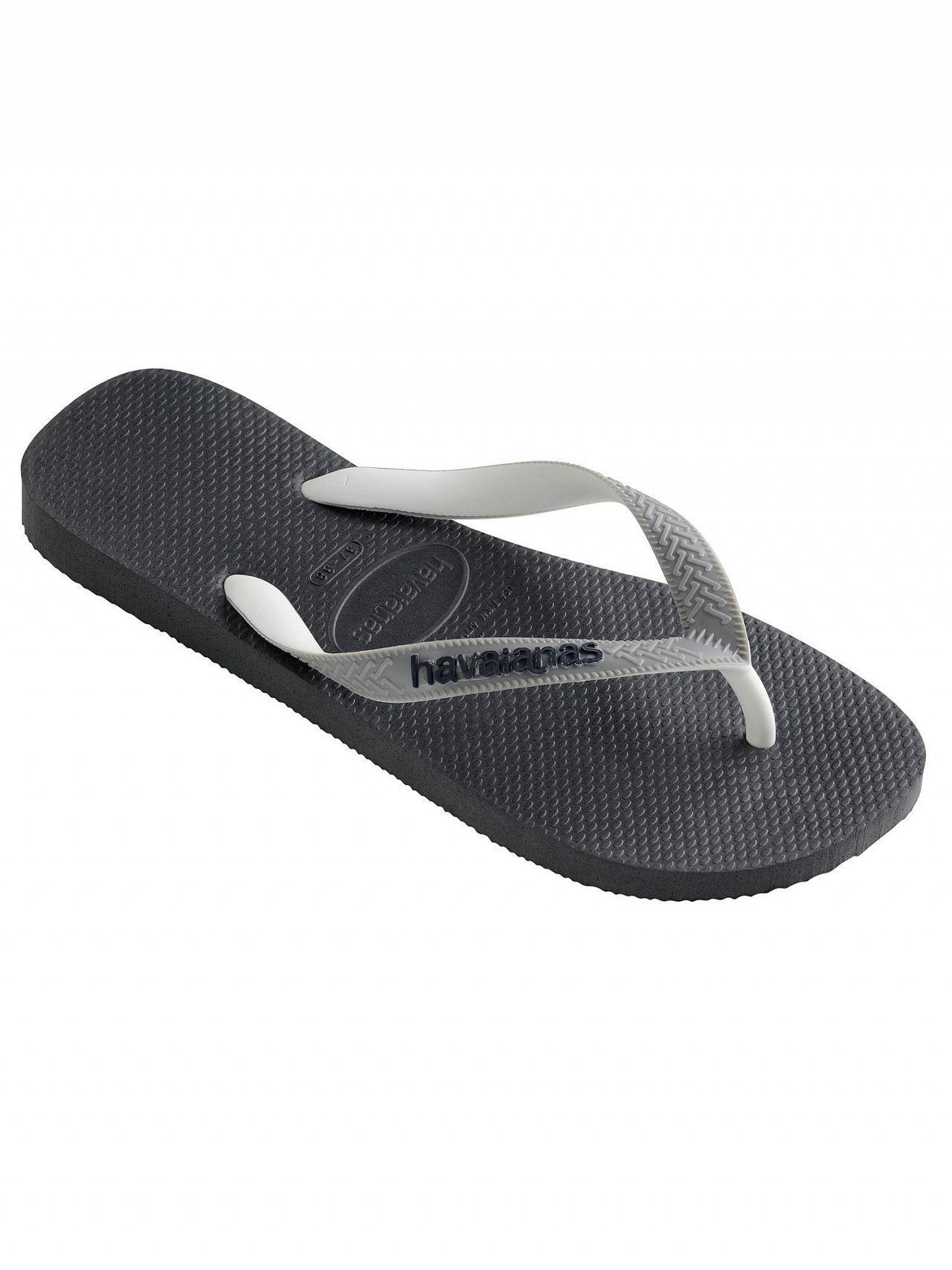 29c347d085d3f Havaianas Graphite Grey Top Mix Flip Flops in Gray for Men - Lyst