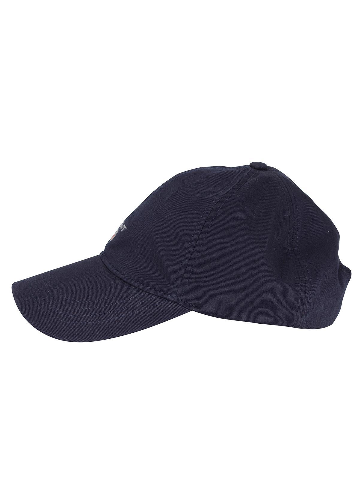 999e6352155 GANT Marine Twill Logo Cap in Blue for Men - Lyst